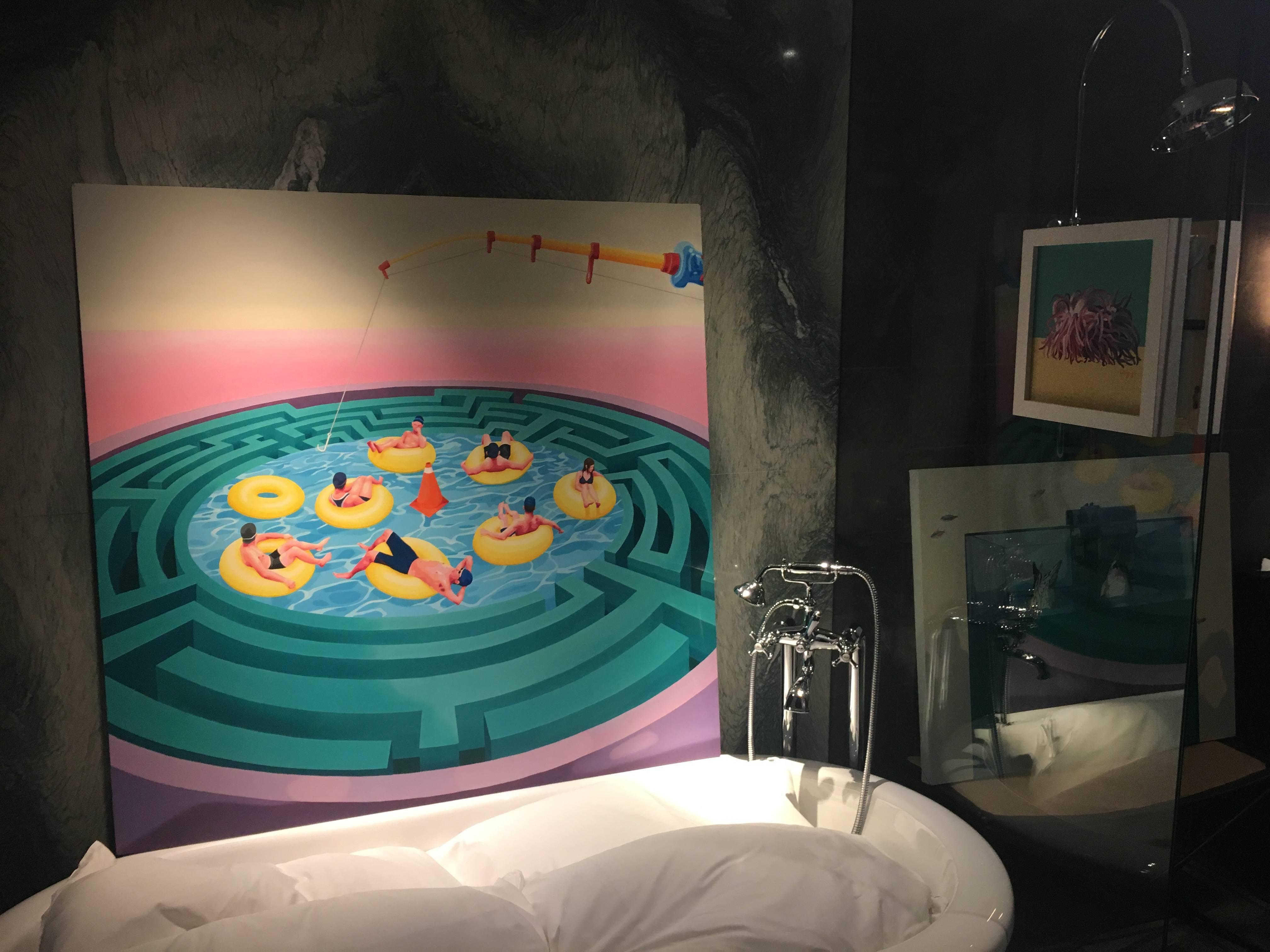 803-藝境畫廊展出作品。