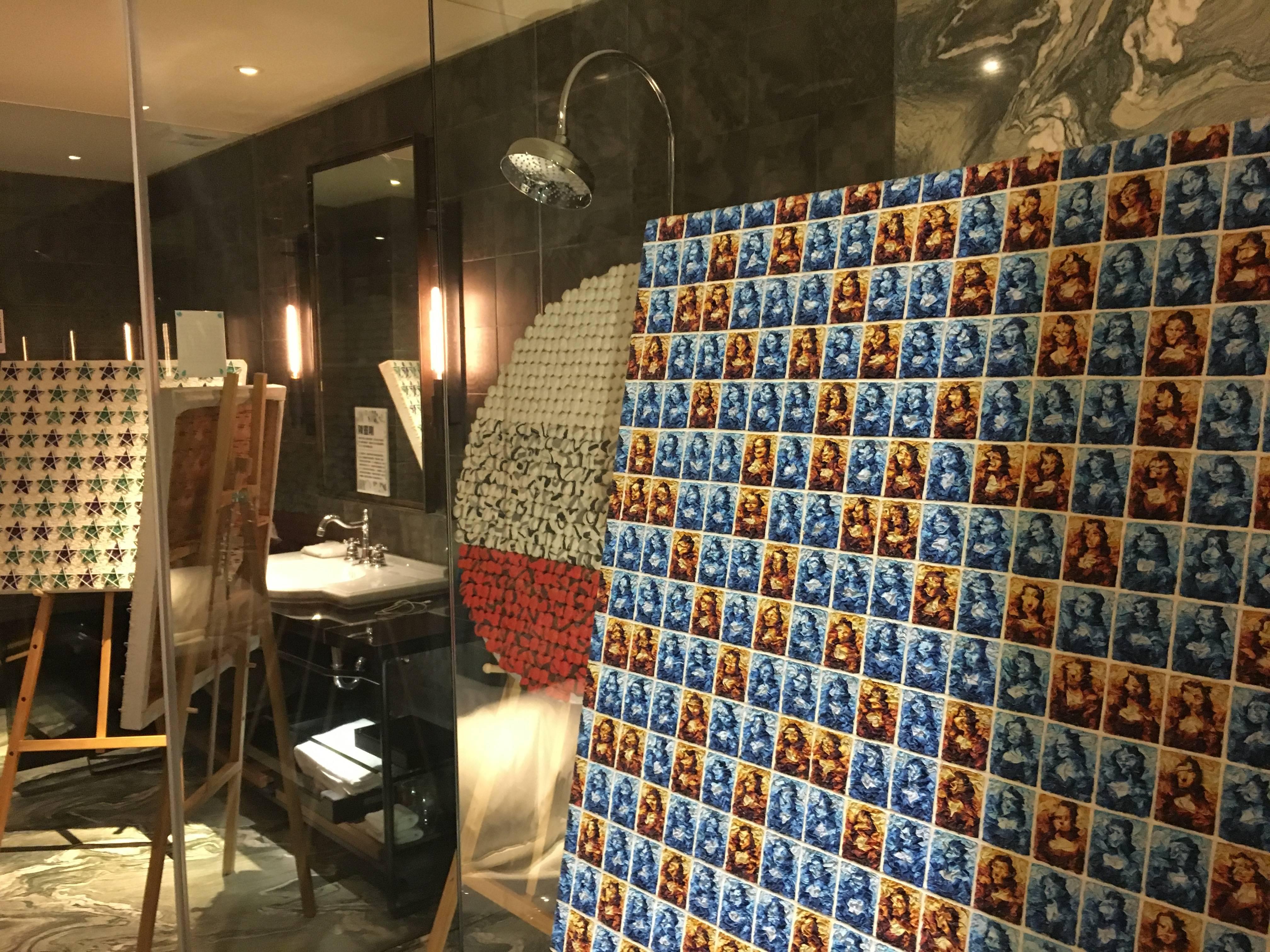 705-四行一藝術空間展出作品。