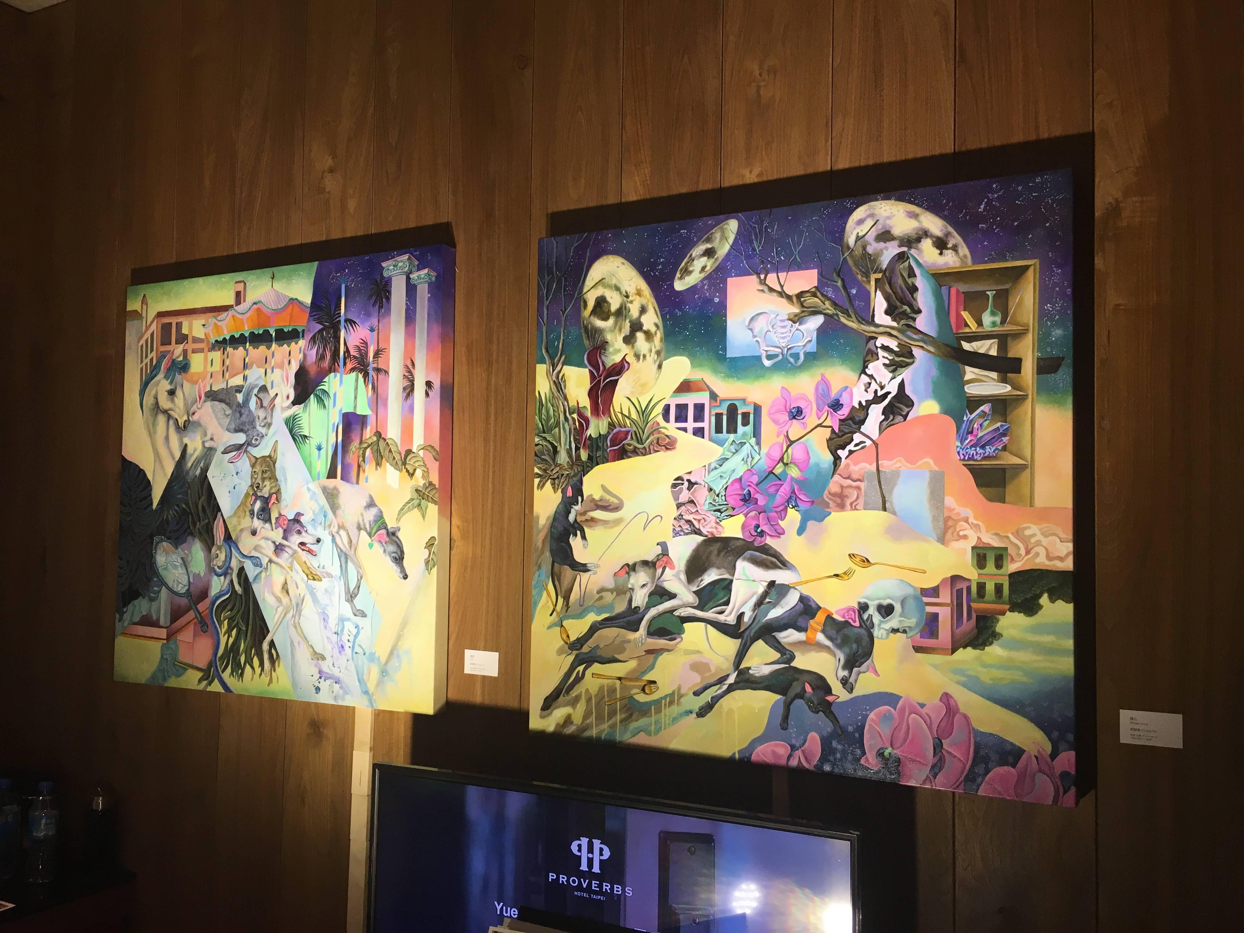 907-潮時藝術展出作品。