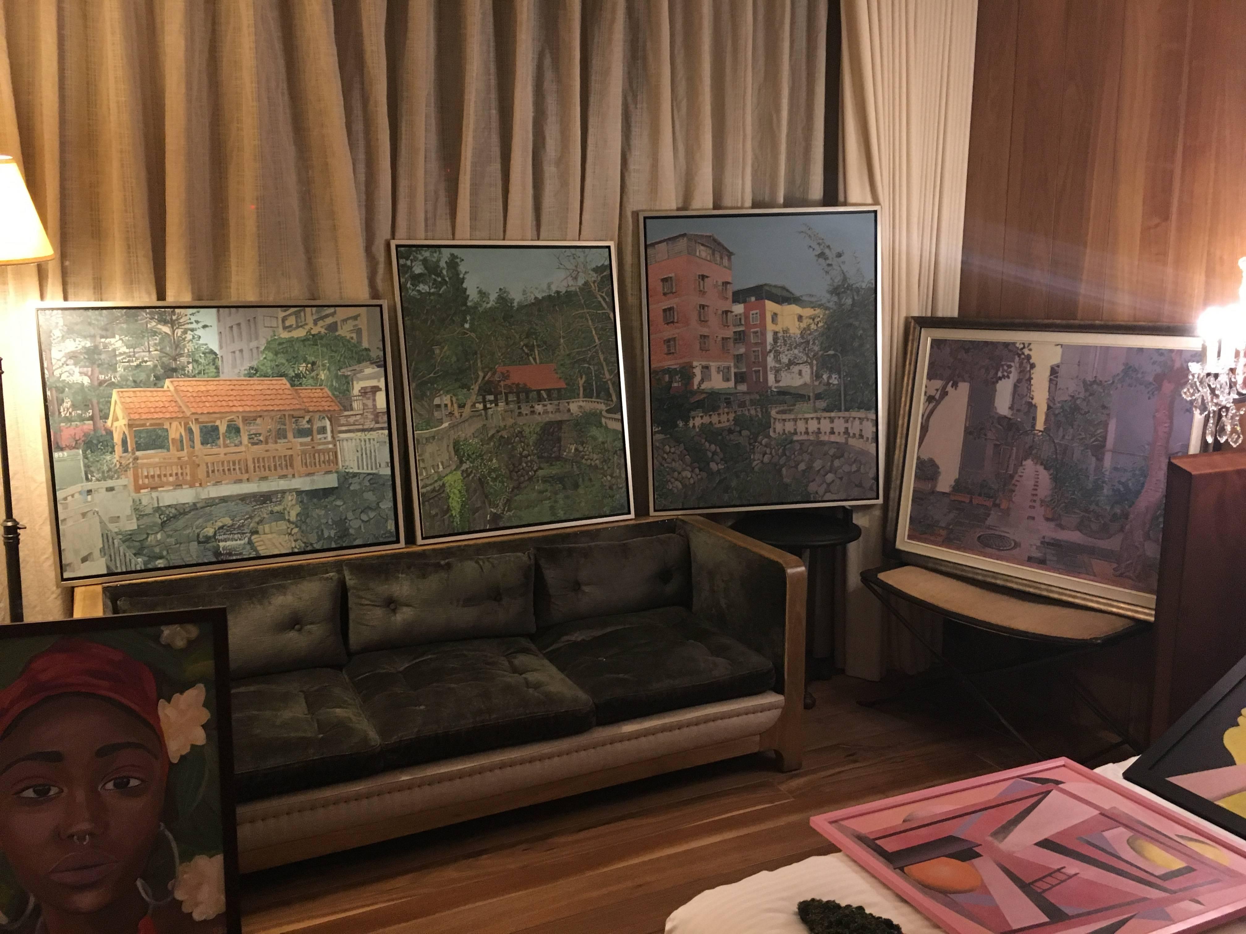 1105-88樓藝術空間展出作品。