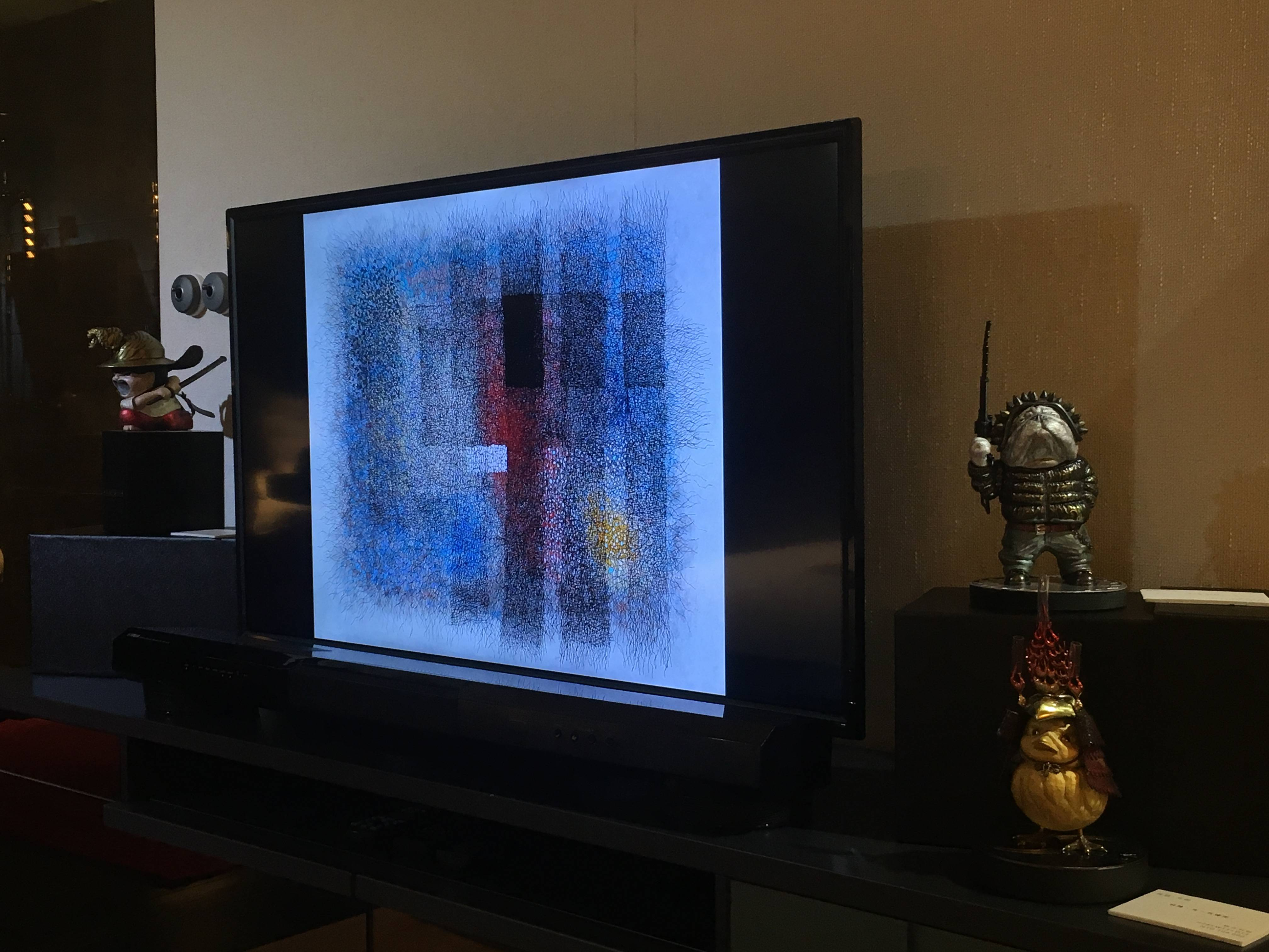 1105-安如藝廊展出作品。