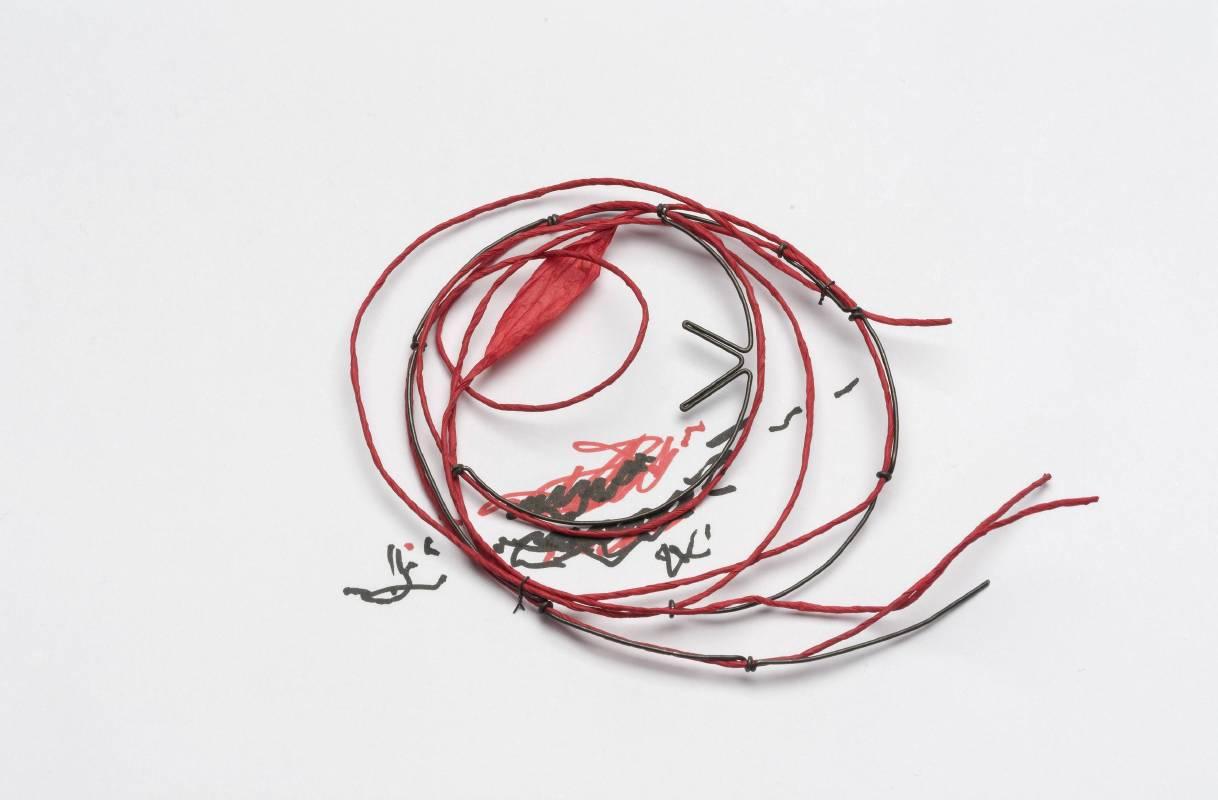Franz Bette 紅×線當代首飾個展
