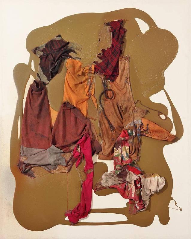 聖家族複合媒材、畫布162x130cm1999