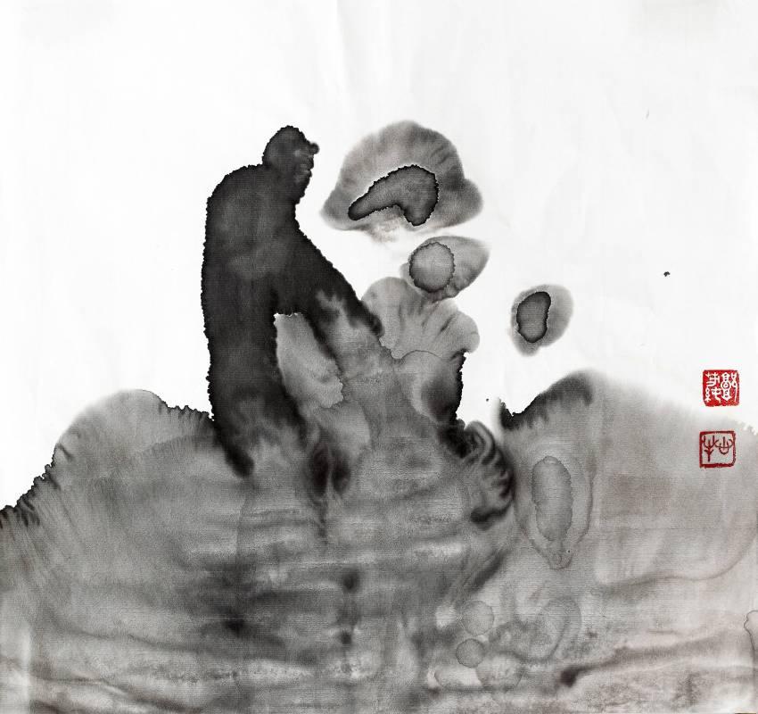 郭芳純_對話1_33x31 cm