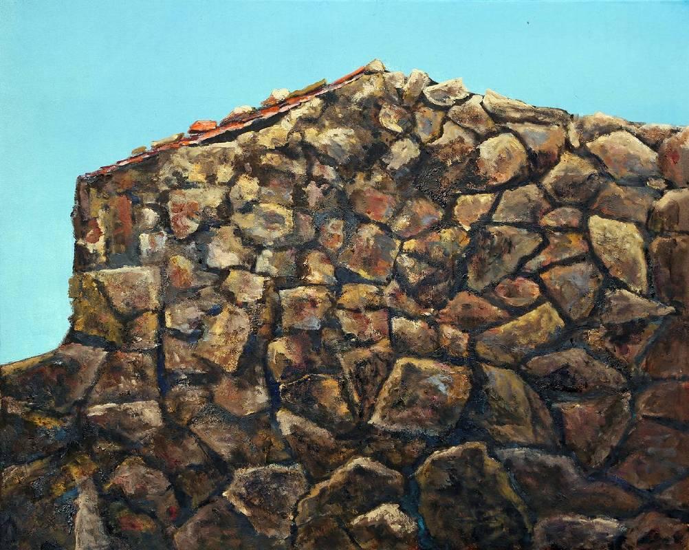 曹松清 《歲月一》 30F(72.5x90cm) 油彩、畫布 2019
