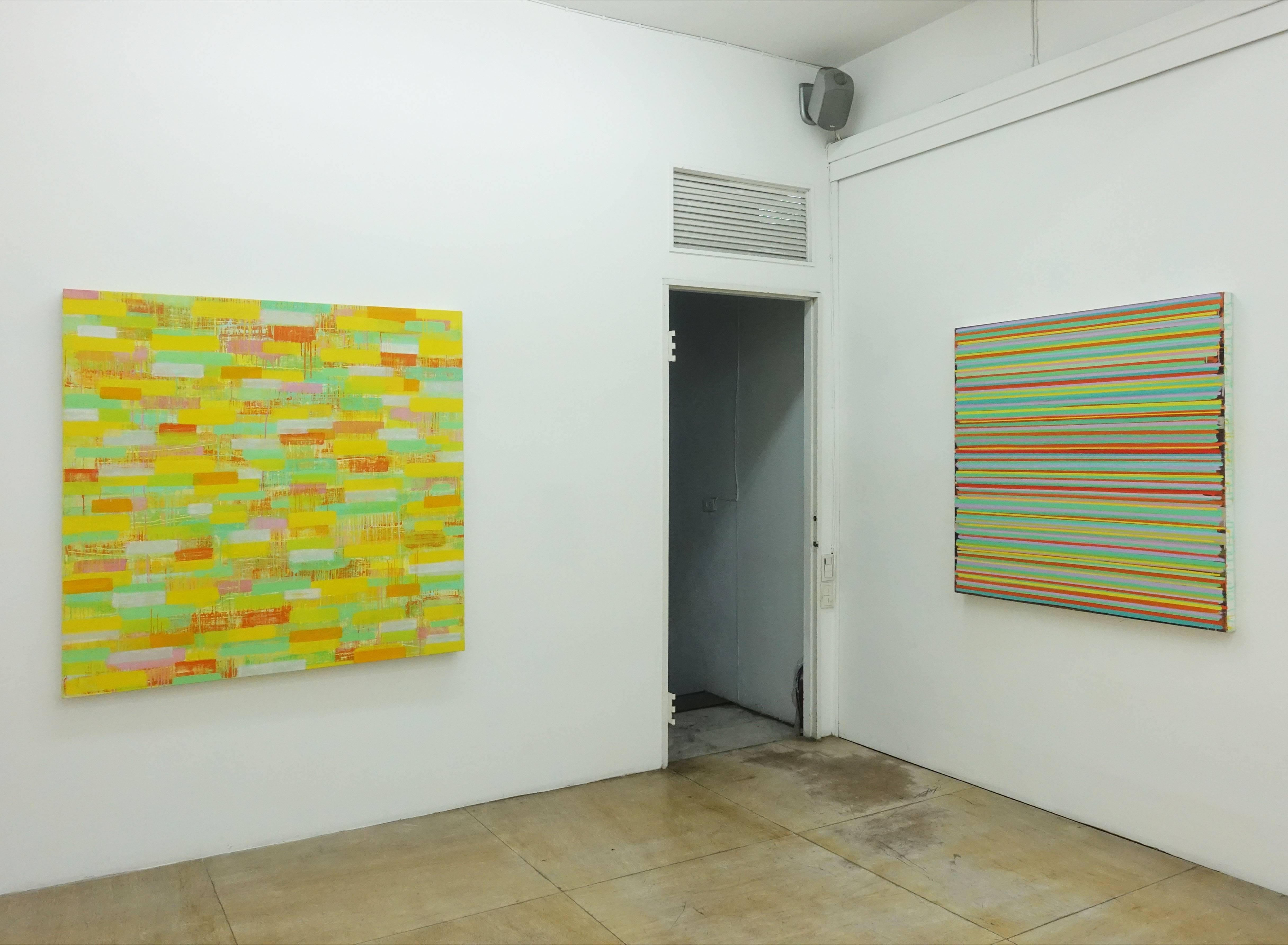 紀嘉華作品於伊通公園現場展出。