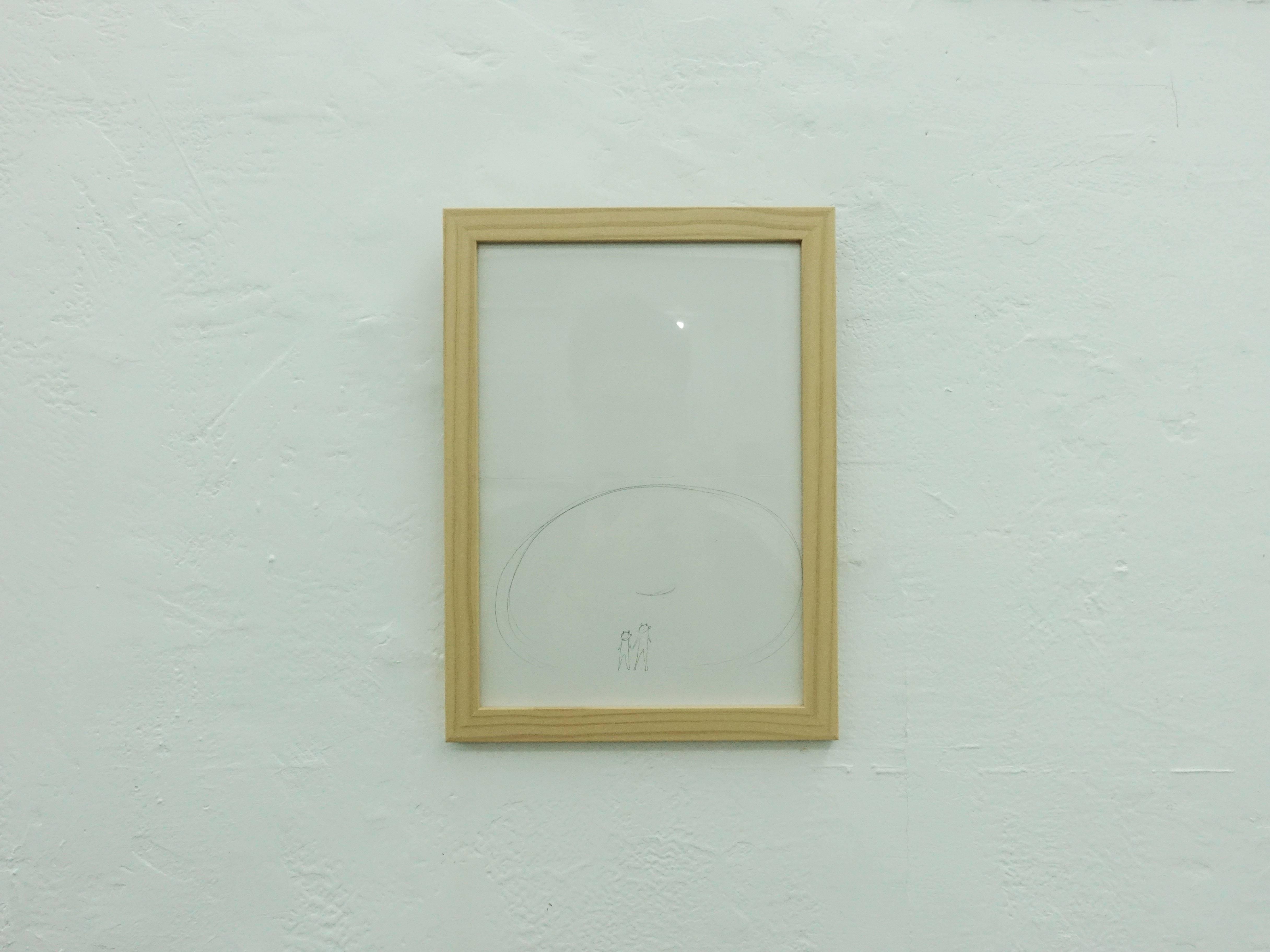 王德瑜,《No.97 草圖》,24.3x29.9cm,素描,2019。