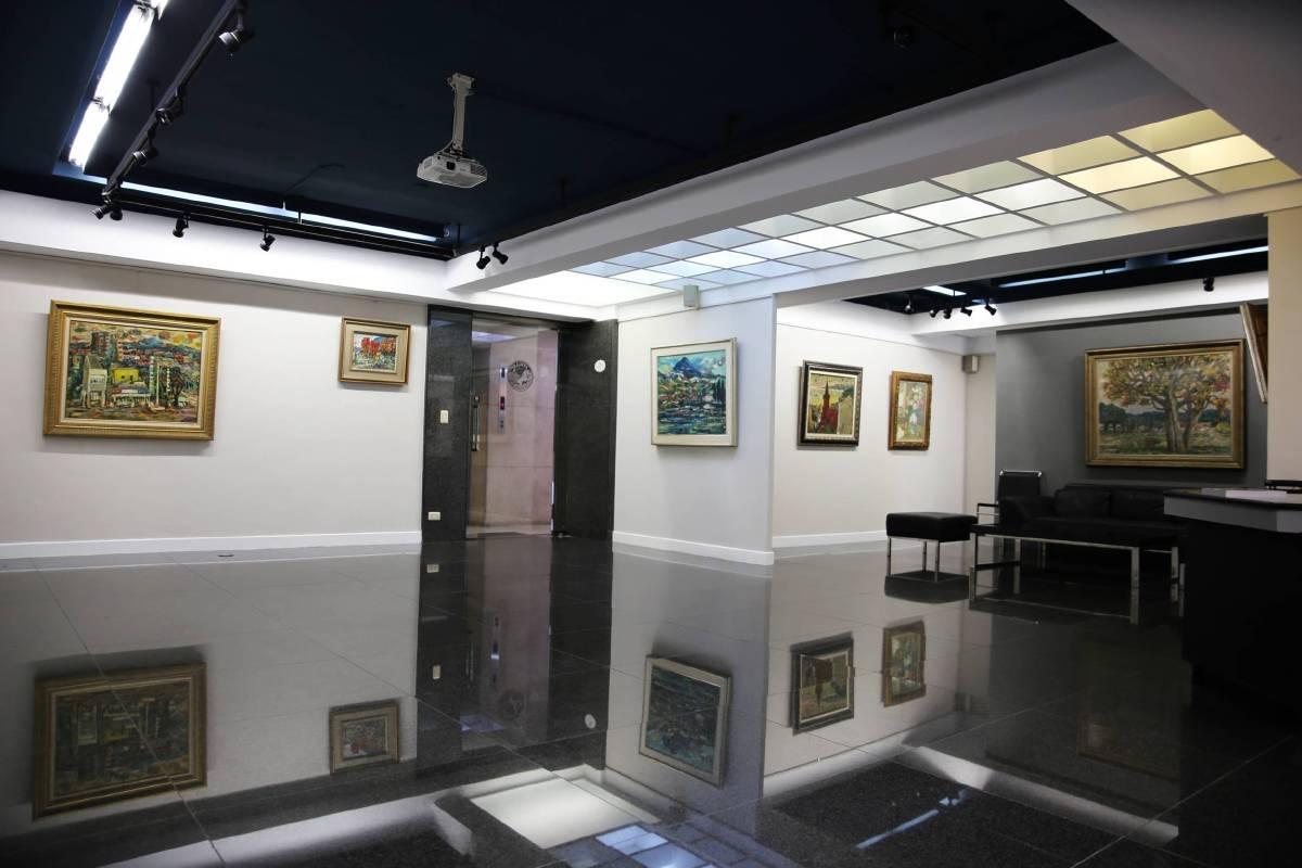 張炳南紀念展-展場場景