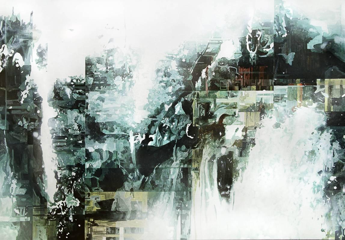 王建文 一縷滯留系列-M4 2019 油彩、畫布 65×92 cm