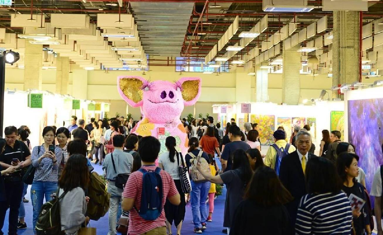 「2019台北新藝術博覽會」共有448位藝術家作品售出,創下90.14%的藝術家成交率。