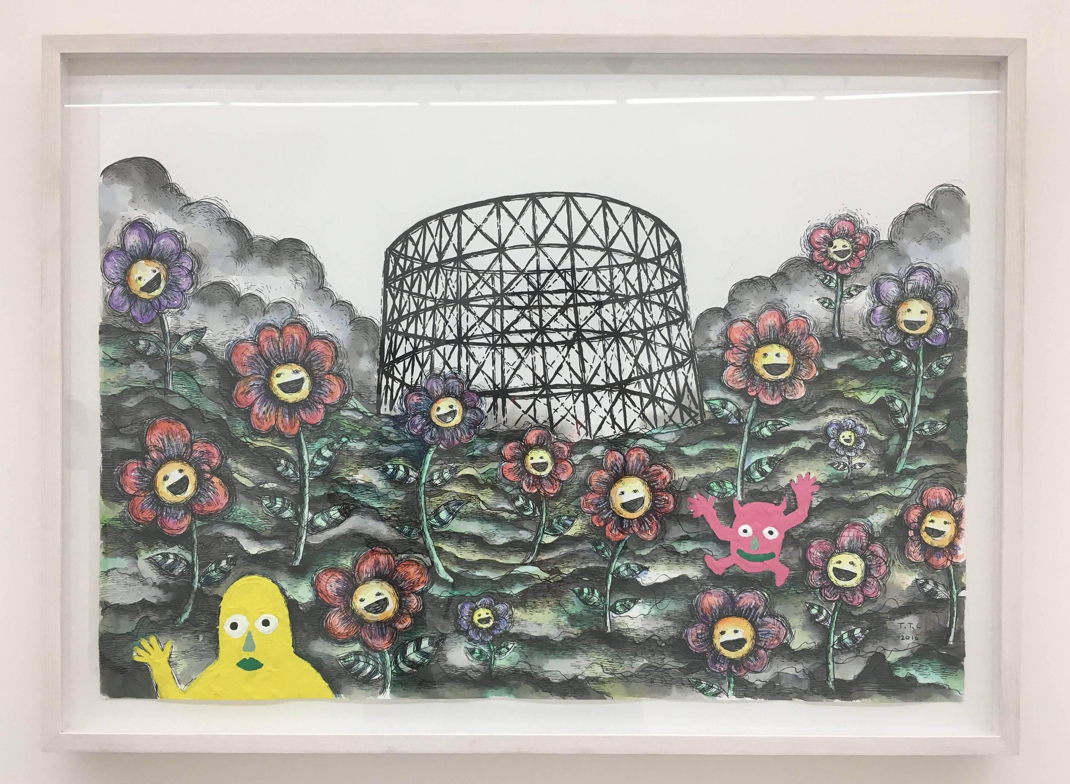 【Kosmos】張碩尹個展 展覽現場實紀。