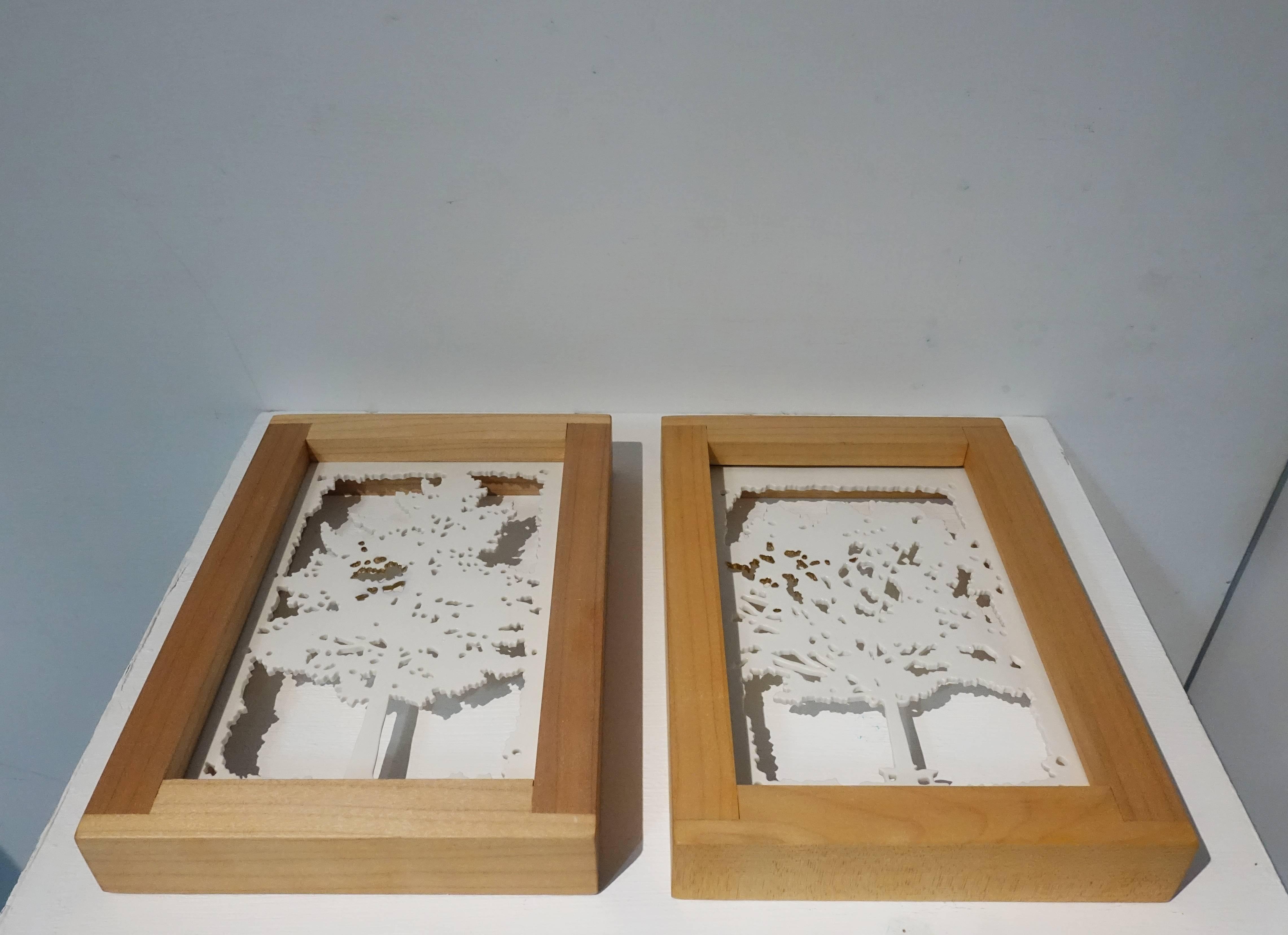 朴芝瀅Park Ji Young,《S#45》系列,瓷、楓木。