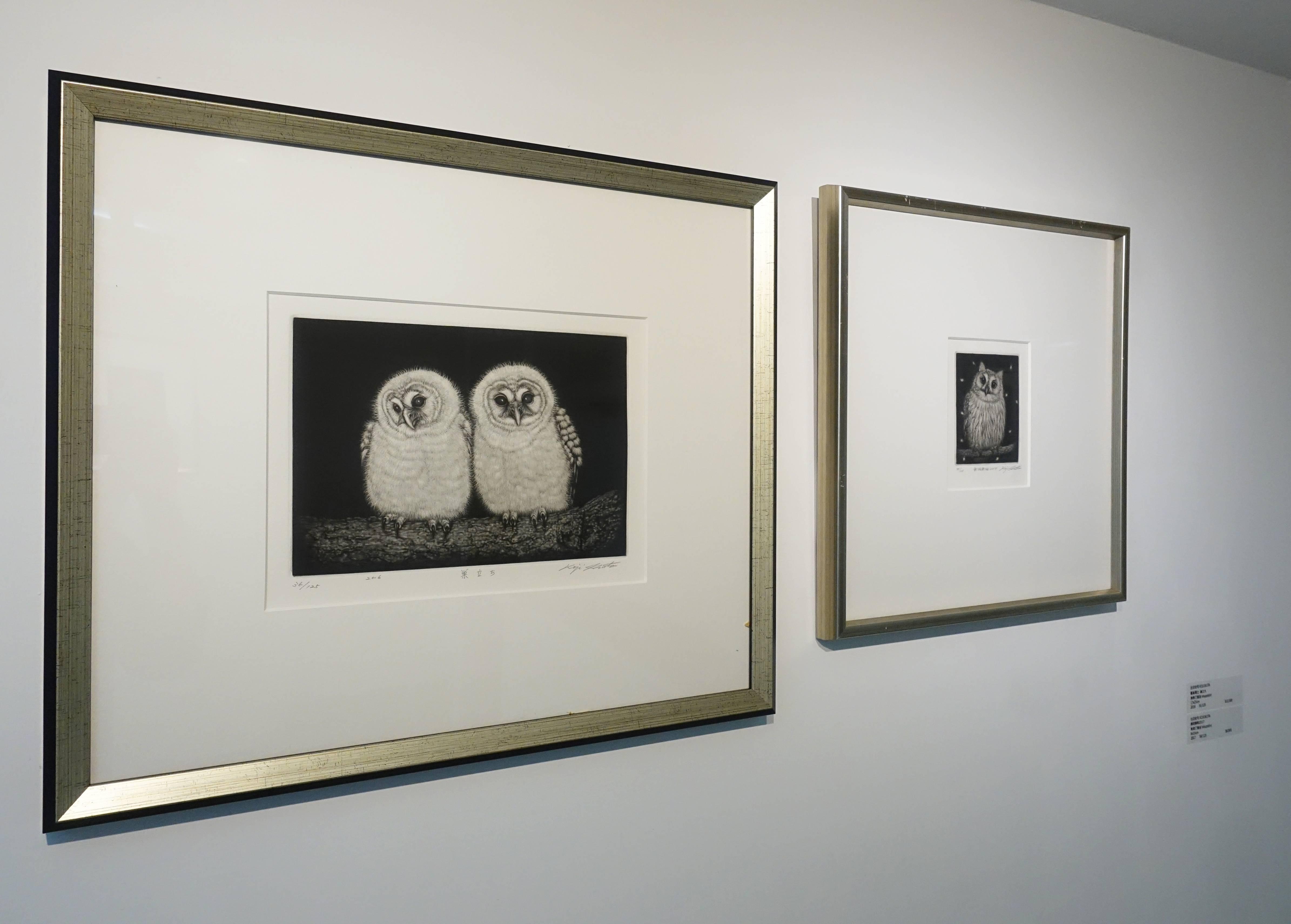 生田宏司,《無垢無垢》,美柔汀銅版,2017。