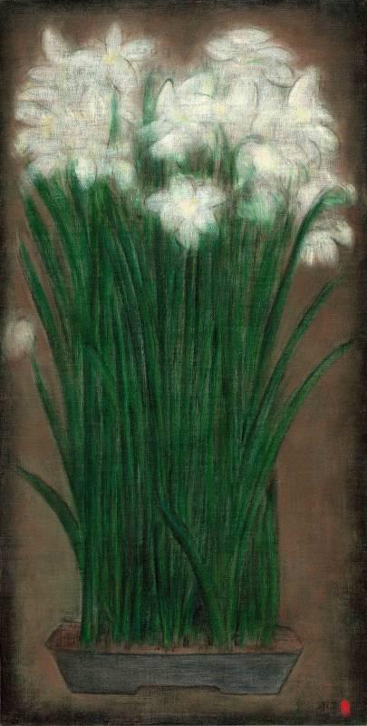 盆景-6 Landscape in a Bonsai Pot-6 80x40cm 油畫、畫布 Oil on canvas 2015