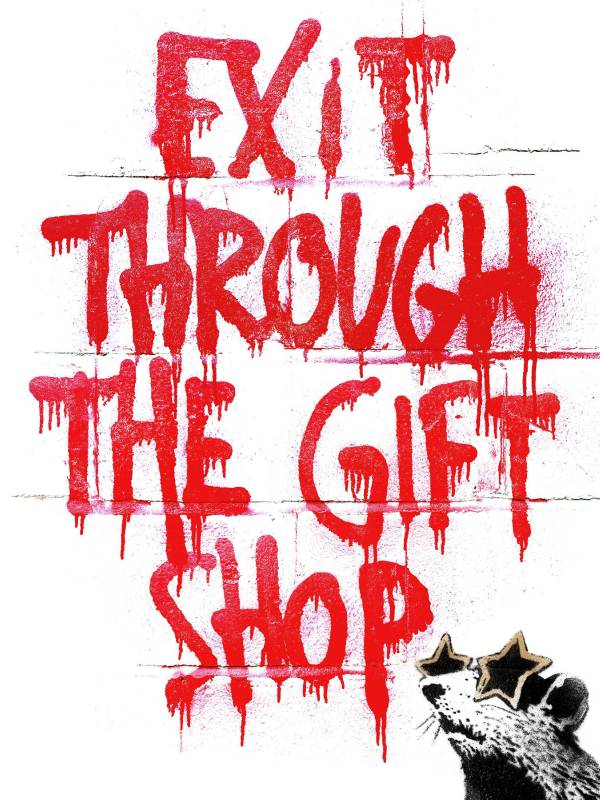Banksy 「EXIT THROUGH THE GIFT SHOP」電影海報