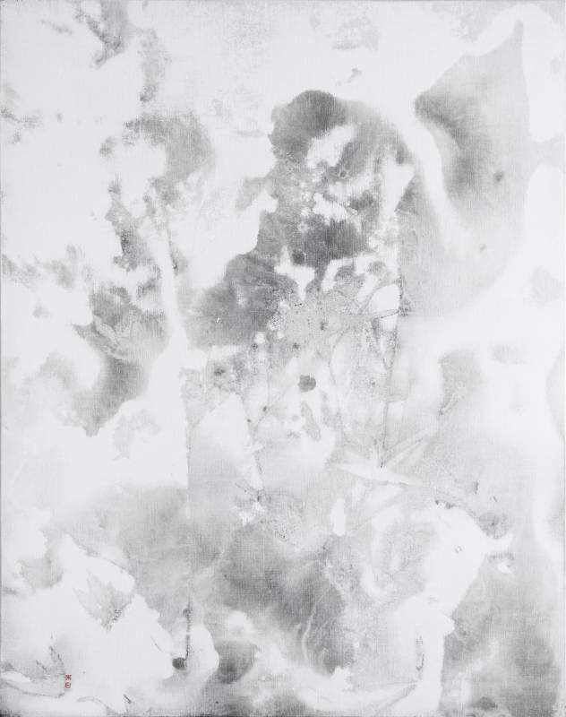 陳正隆,竹石圖 1905,2019