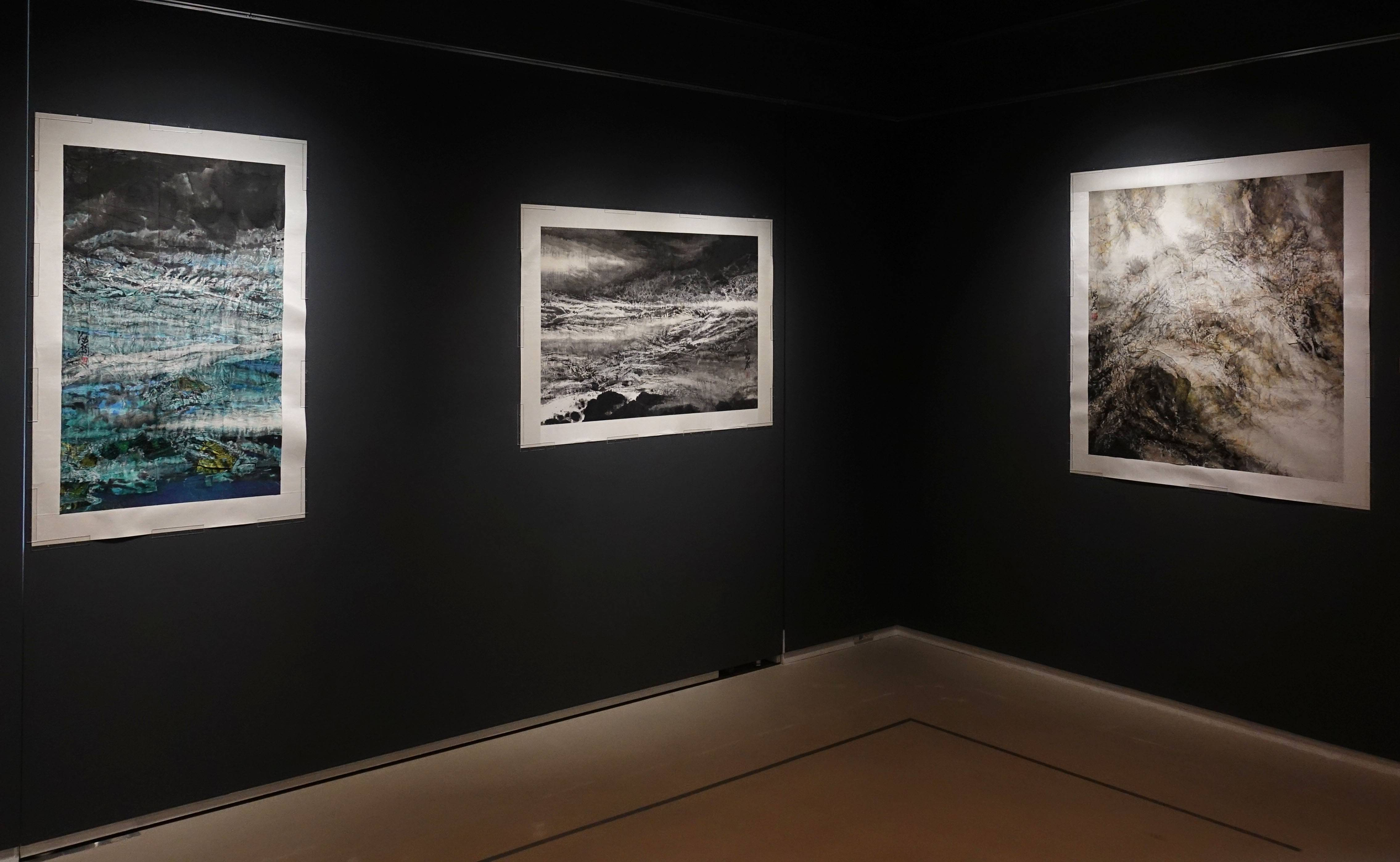 藝術家蔡海鷹作品於大觀藝術空間二樓展出。