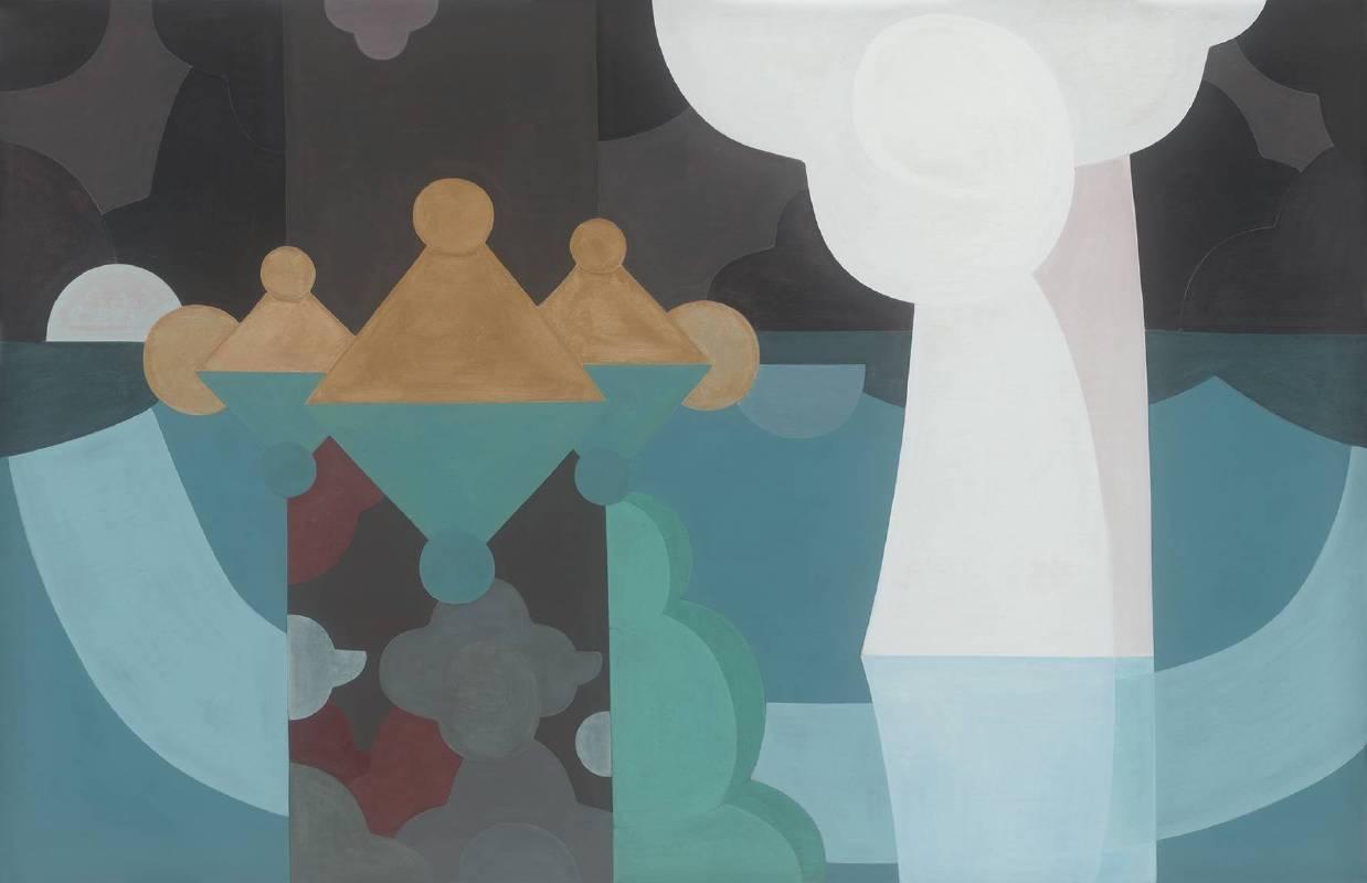 游於造物之三 Free and Unfettered in Creation No.3紙本水墨、壓克力、鉛筆 Ink, Acrylic, Pencil on Paper104×162cm2019
