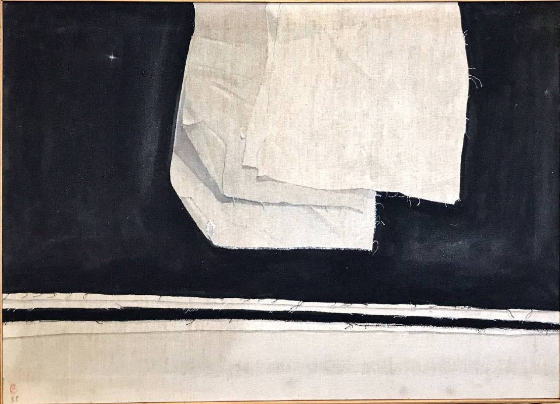 朱為白 Chu Wei-Bor,〈小生命系列〉(Little Life Series),1985,水彩或其他顏料Watercolor or other paints,49x73cm