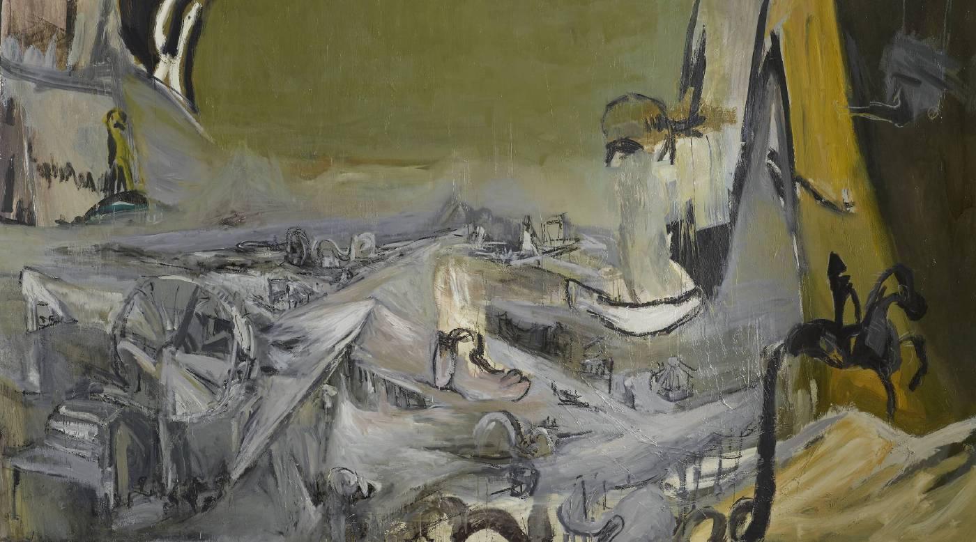 常陵|大玄玄社會-遊樂園|2012|油彩|186x326cm