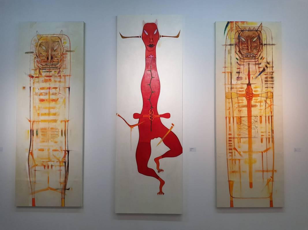 「生生不息」展覽現場作品