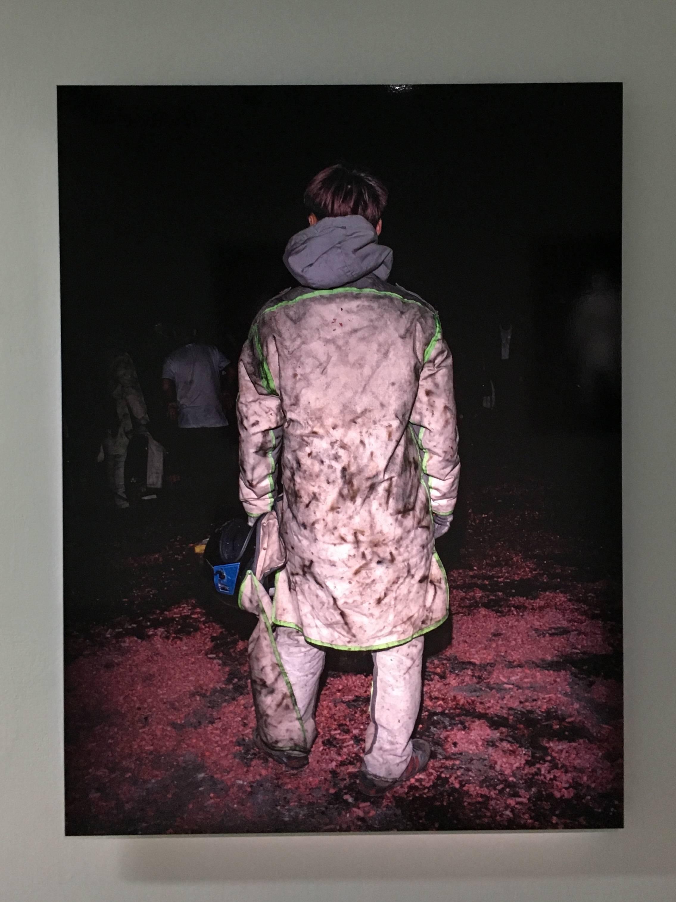 陳伯義,《食砲人 - XV》,75 x 100 cm,雷射輸出彩色銀鹽相紙,1/8,2019。
