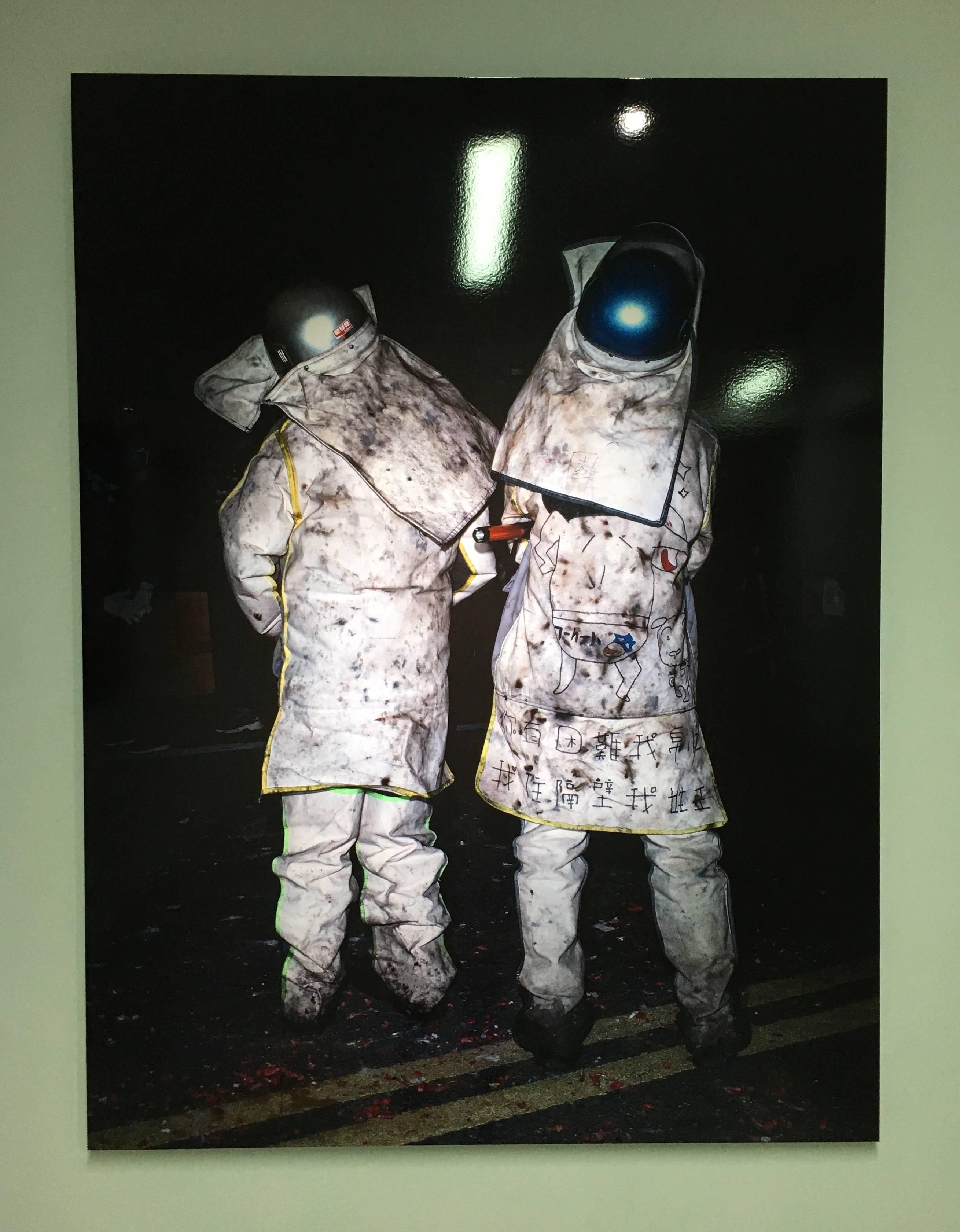 陳伯義,《食砲人 - XVII》,75 x 100 cm,雷射輸出彩色銀鹽相紙,1/8,2019。