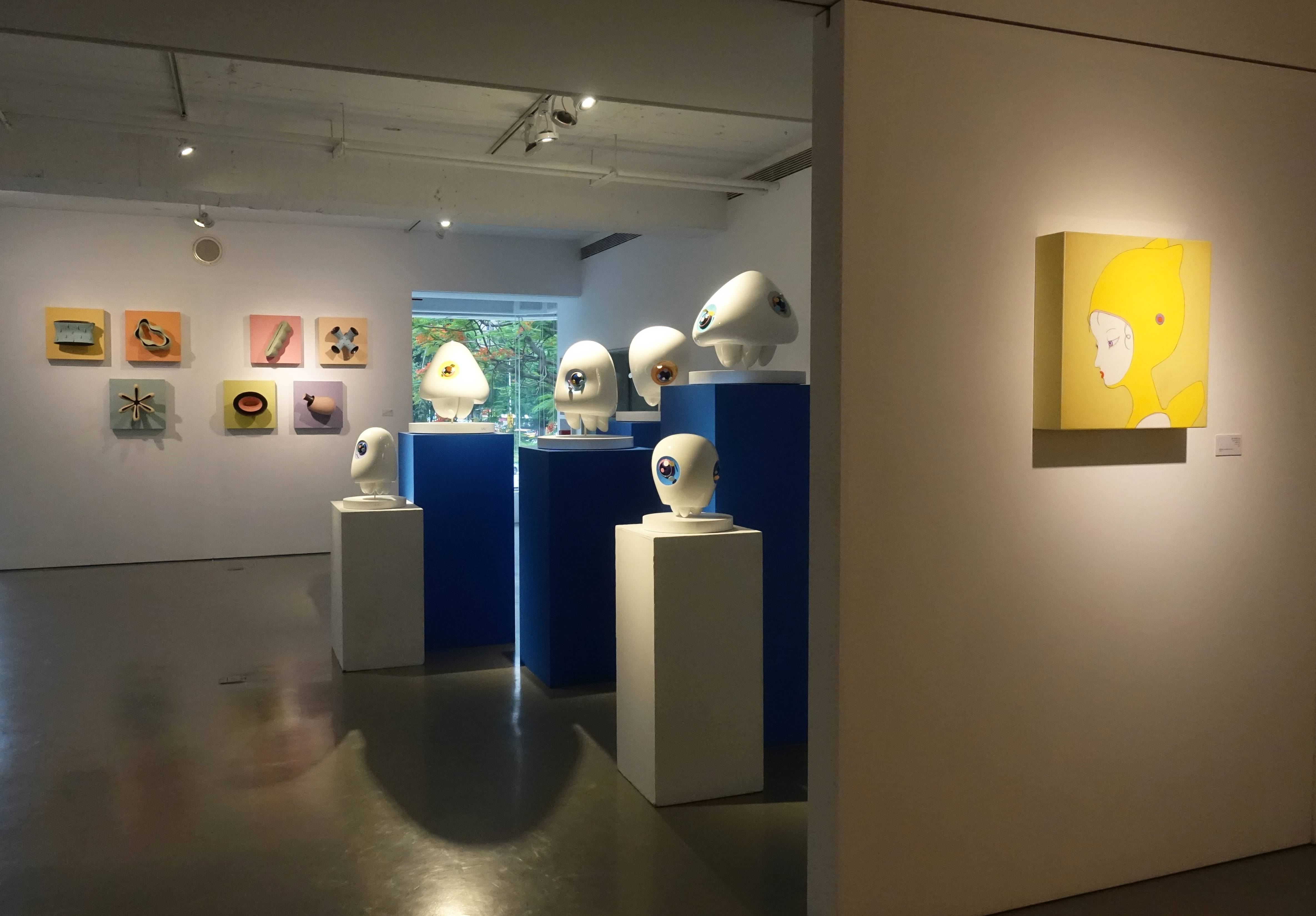 「時間、人間、空間」公共藝術系列展覽空間。
