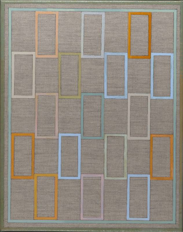 王小萍 Shiao-Ping Wang 春 Spring壓克力、麻布 Acrylic on linen51x41cm2017