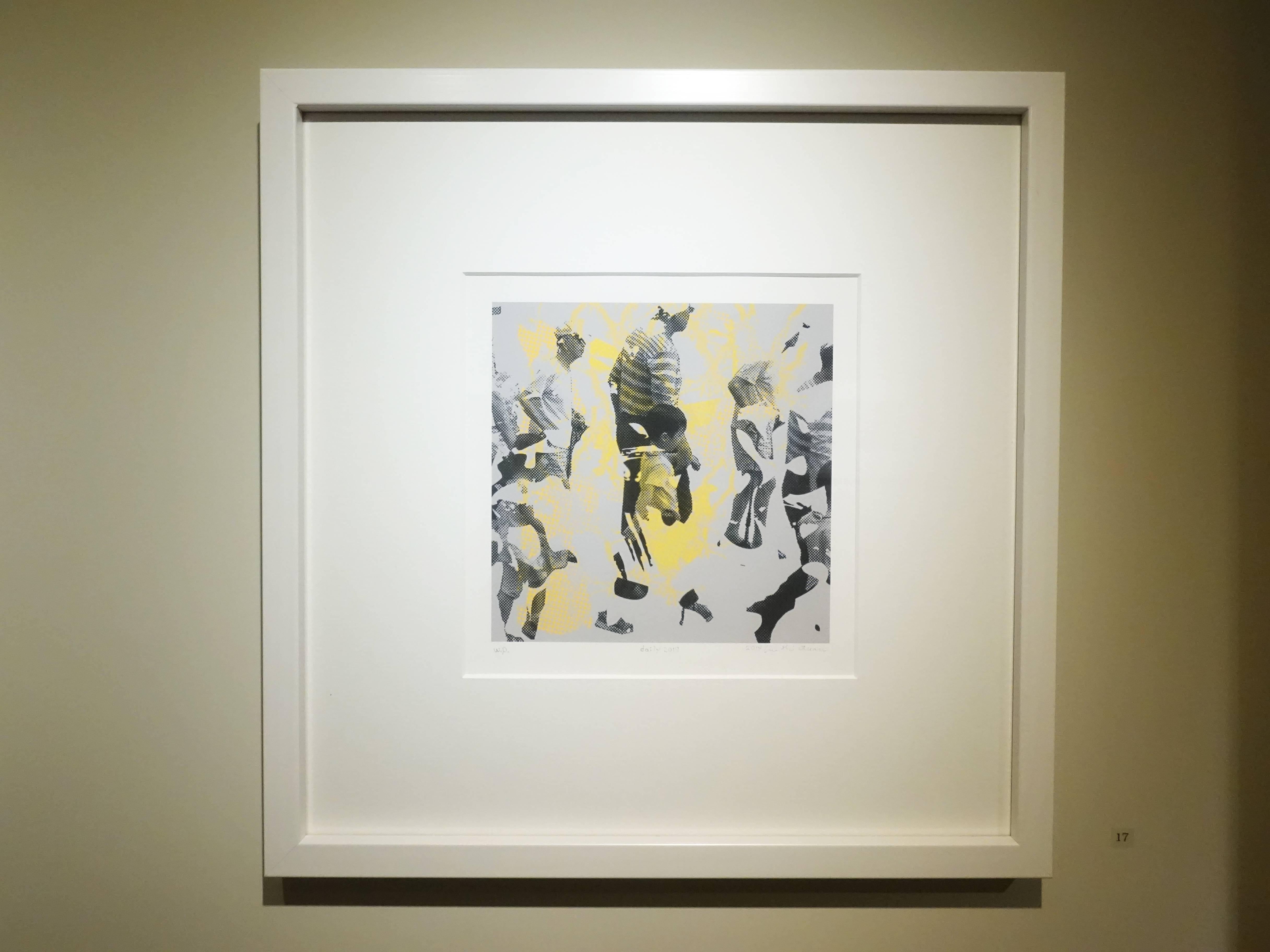 劉錫權,《日常2019》,20 x 20 cm,WP,數位版畫,2019。