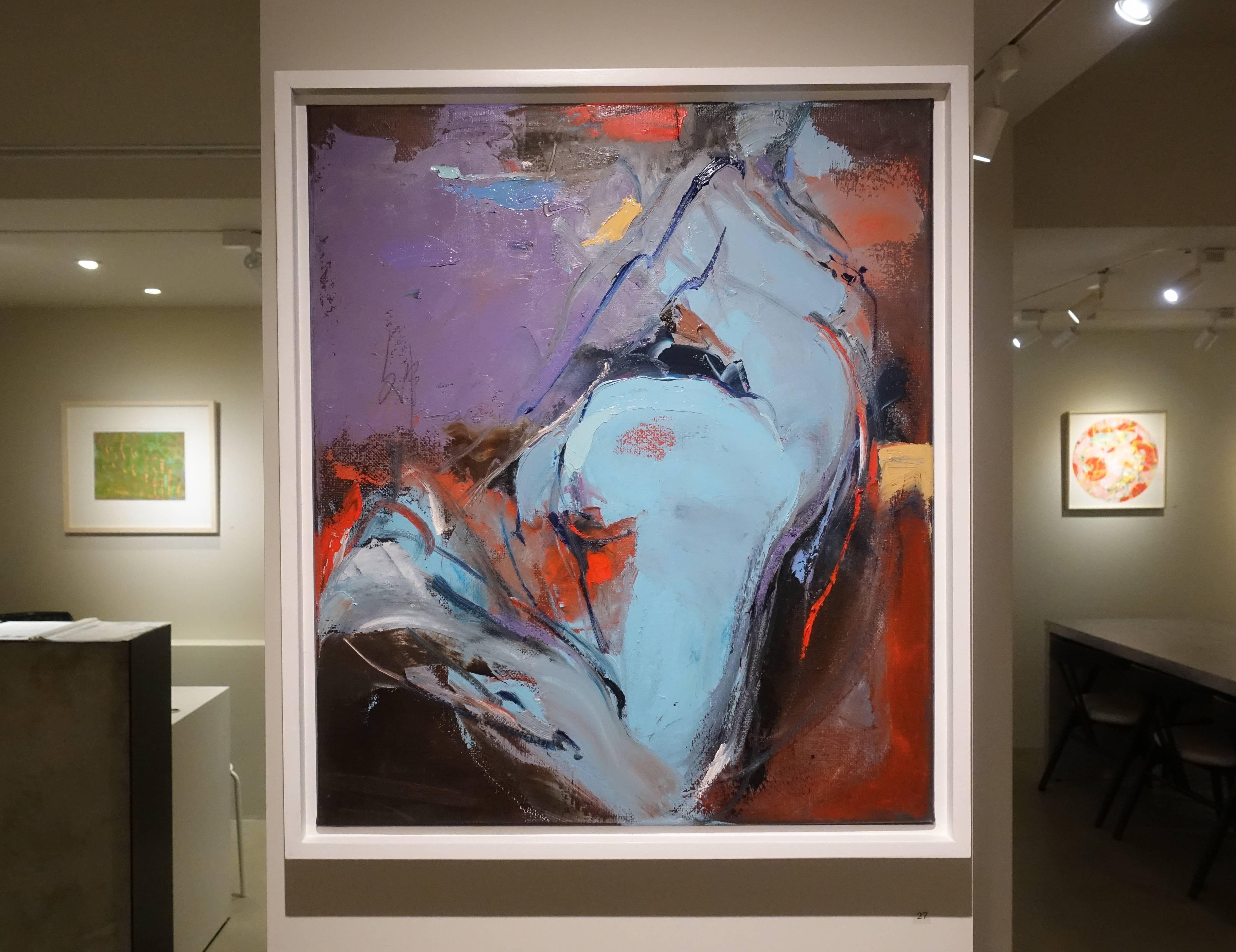 田文筆,《尋夢1》,53 x 45.5 cm,1/1,油彩,2016。