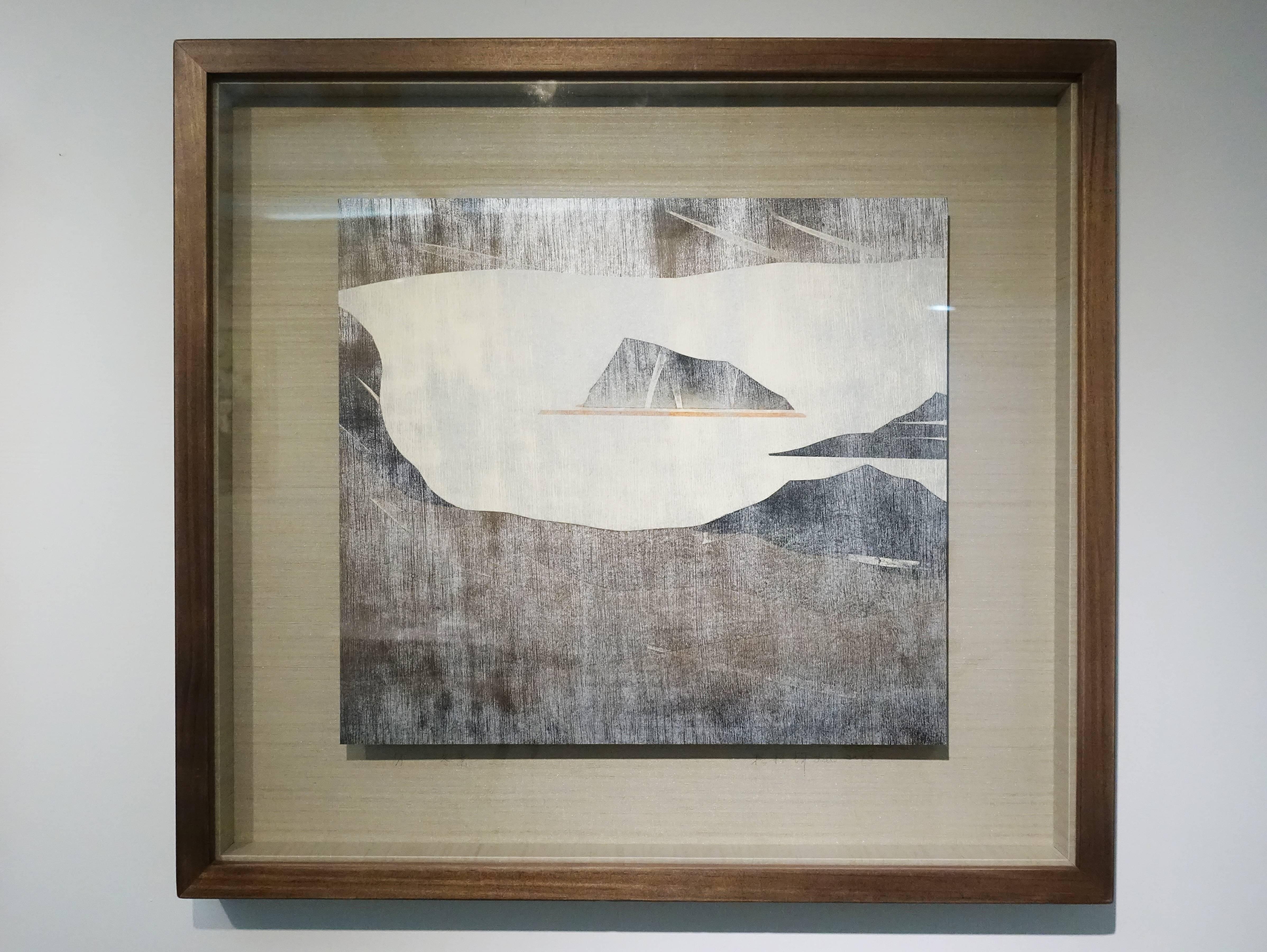 賴振輝,《冬景》,36.5 x 33 cm,1/1,併用版,2018。