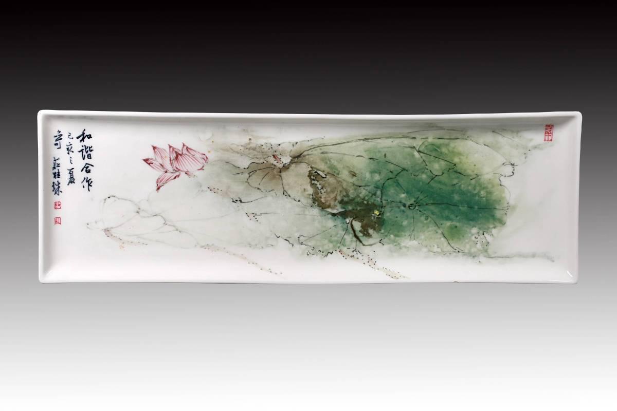 莊桂珠 《和諧合作》 2019  16×49公分