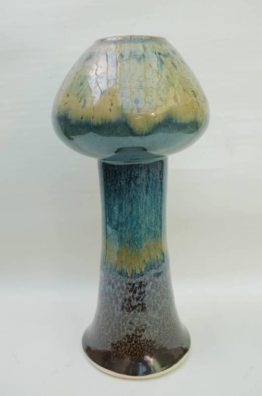 結晶、兔毫、油滴瓶 18X18X40cm