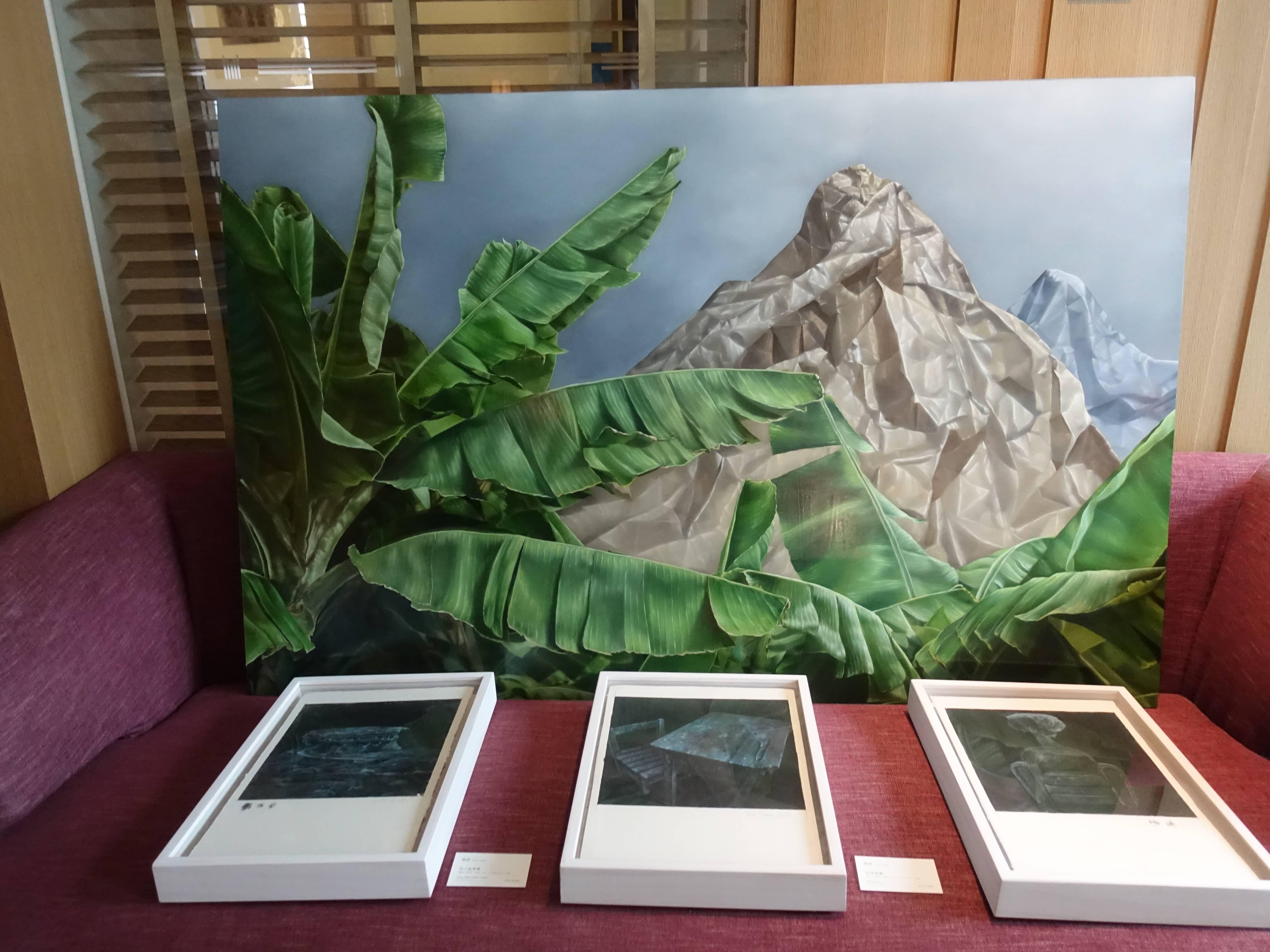 大觀藝術空間藝術家 - 顏群,《變動風景1》,91 x 140 cm,油彩、畫布,2018。