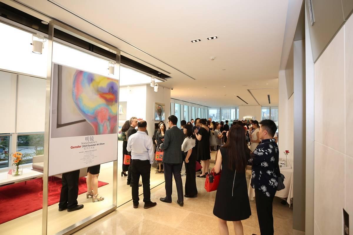 創意無限的藝術家李善單及「超女創藝四人組」瑪馨玲月受邀於美國Gensler上海總部舉行展覽。