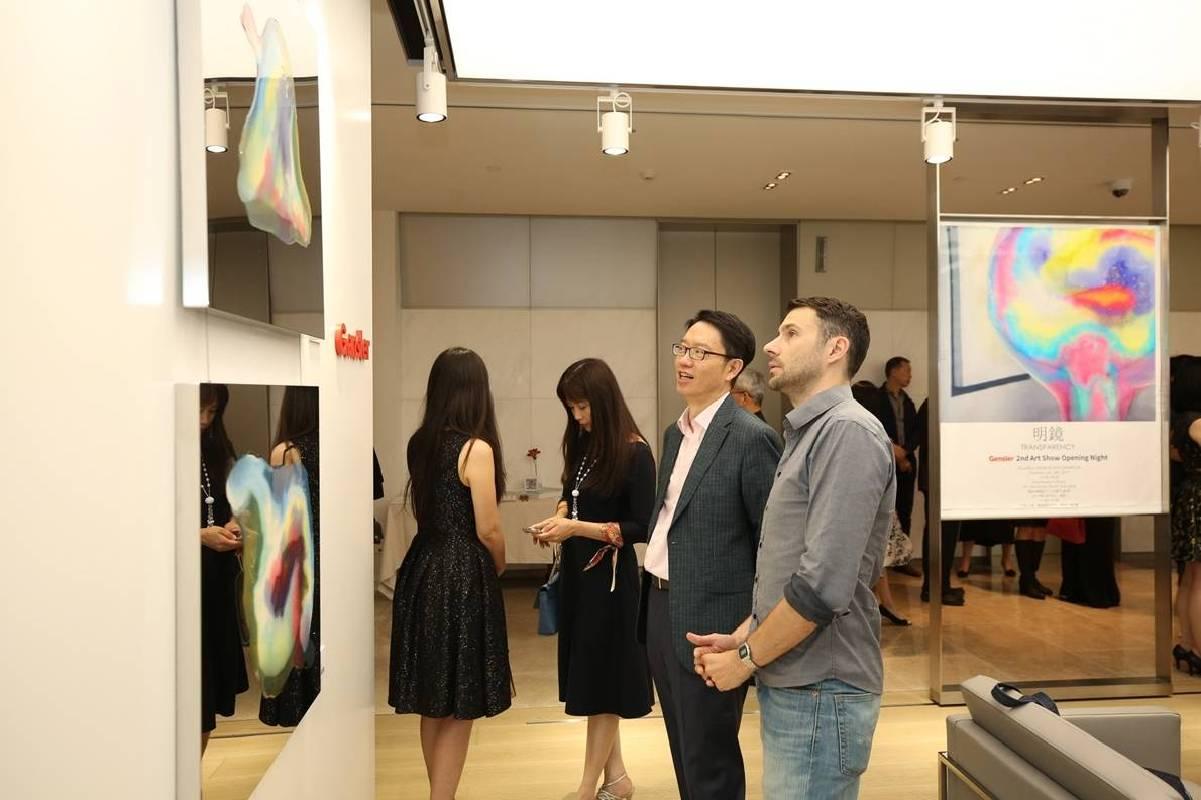 《明鏡‧印象》系列具當代又極富抽象意境,受到國際建築界菁英及上海名流的喜愛。