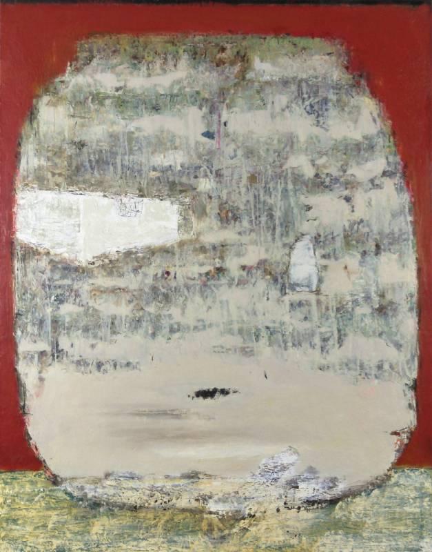 〈林中路–迷蹤〉 116.5 x 91cm
