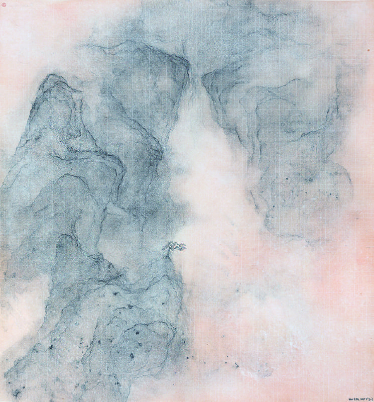 王紹強 Wang Shaoqiang	 	雲麓之三 Mountain Cloud	紙本水墨 Ink on paper	96x89cm	2019