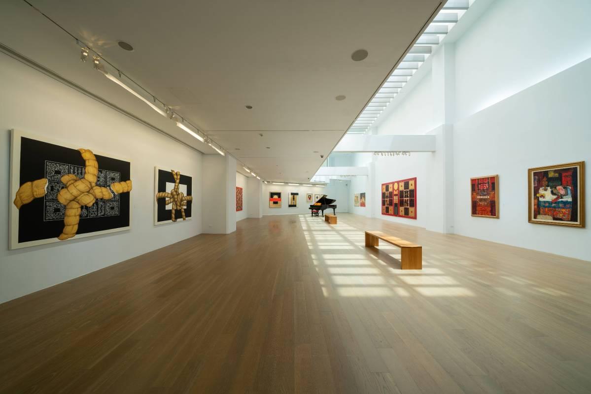 2019 樸素高貴:廖修平的藝術歷程,尊彩藝術中心