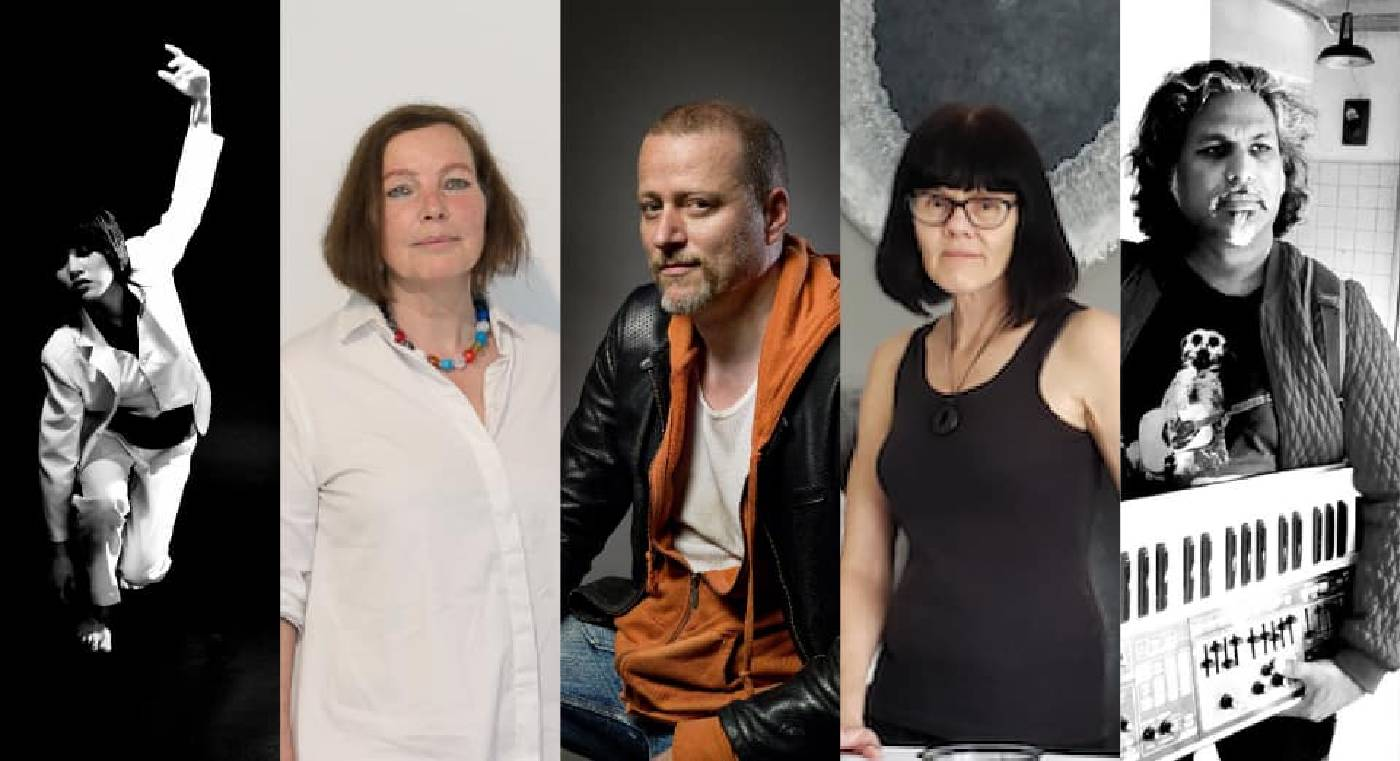 Bluerider ART 攜手五位國際藝術家,帶給觀眾一場充滿驚奇、挑戰、前衞的國際當代藝術盛宴!