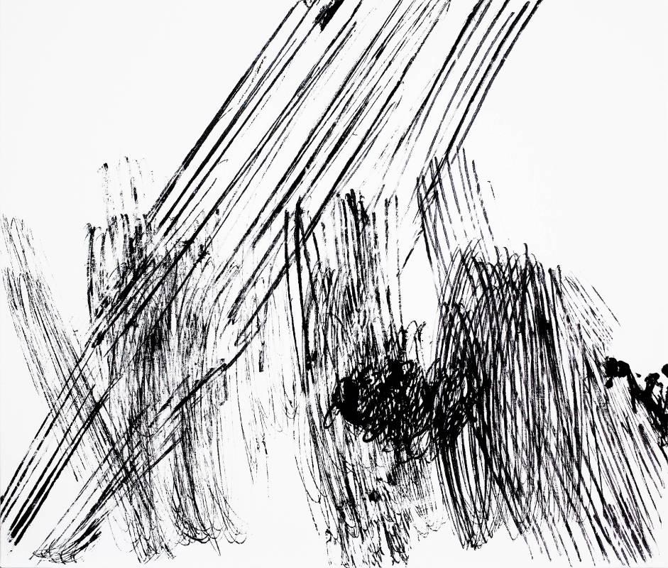 趙璐嘉_Linear series壓克力於畫布100x86 cm_2019