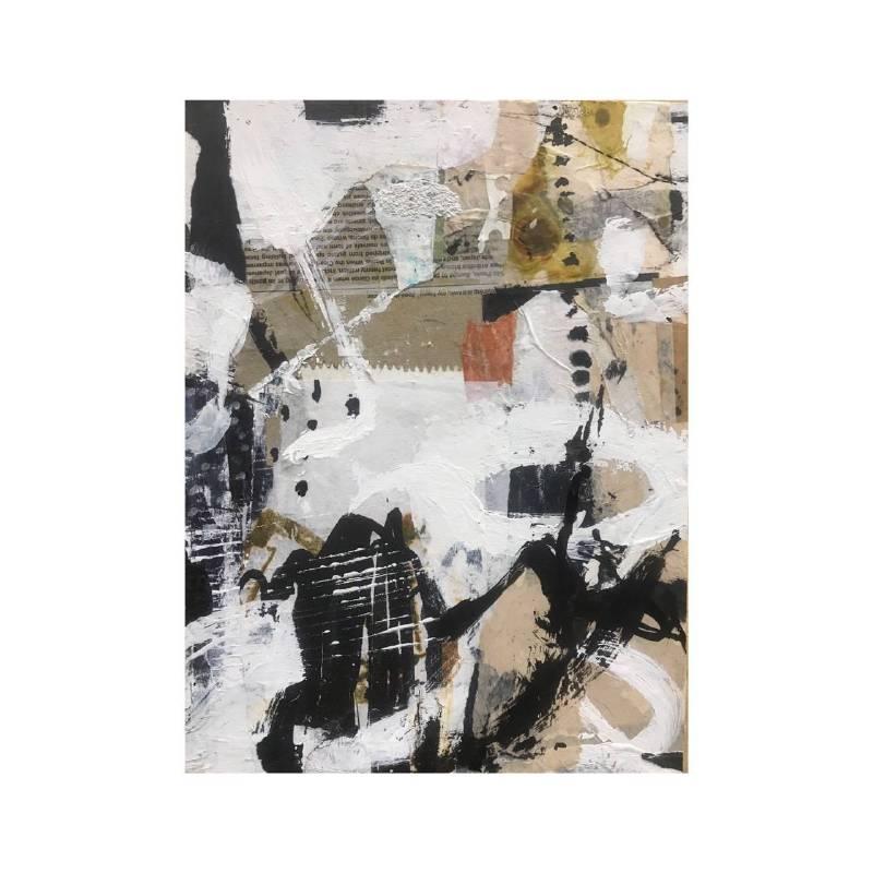 趙璐嘉 _景系列-動-1_複合媒材於木板上21x28x3 cm 2019