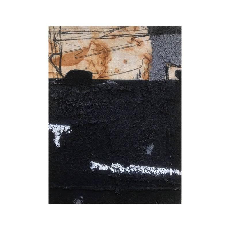 趙璐嘉_景系列-建築工地-5複合媒材於木板上 21x28x3 cm2018