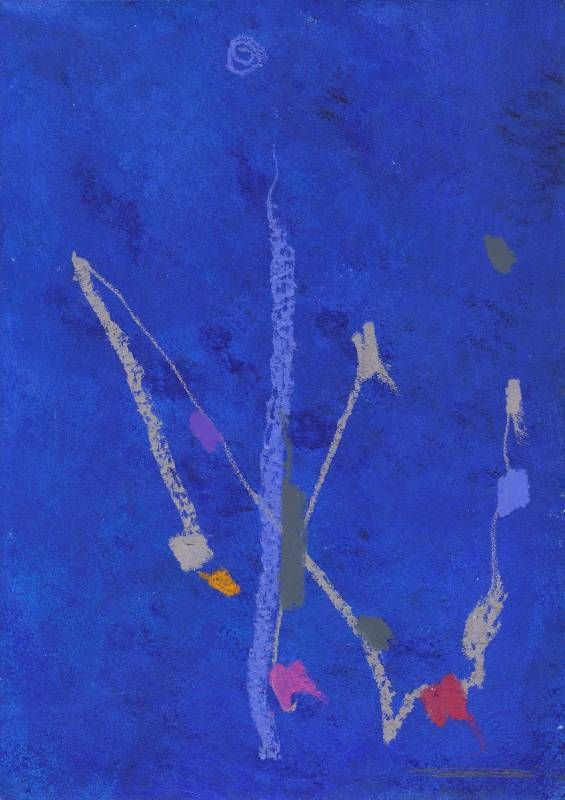 謝貽娟 JO Hsieh None-Space S163 42×29.5cm 複合媒材、紙Mixed media on paper 1997
