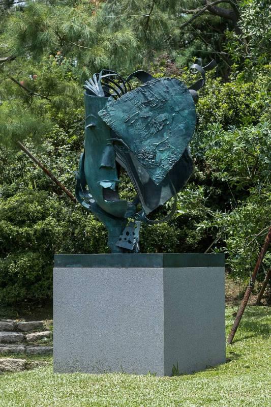李光裕  LEE Kuang Yu 春神 Spring 2019 銅 Bronze 113x114x174cm