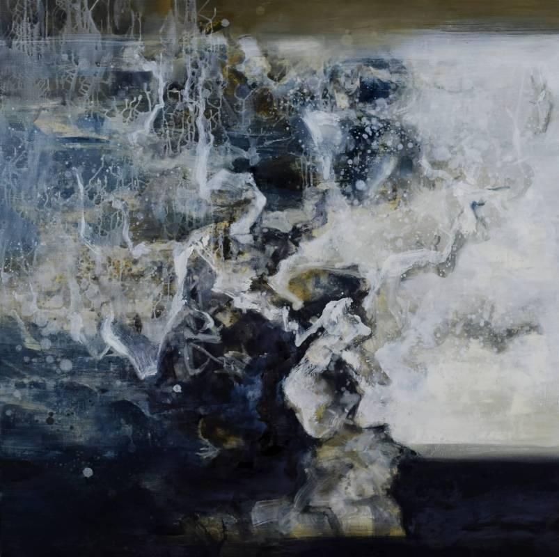 周宸 Chou Chen /己亥仲夏初八 20190610油畫Oil on canvas 107x107cm 2019