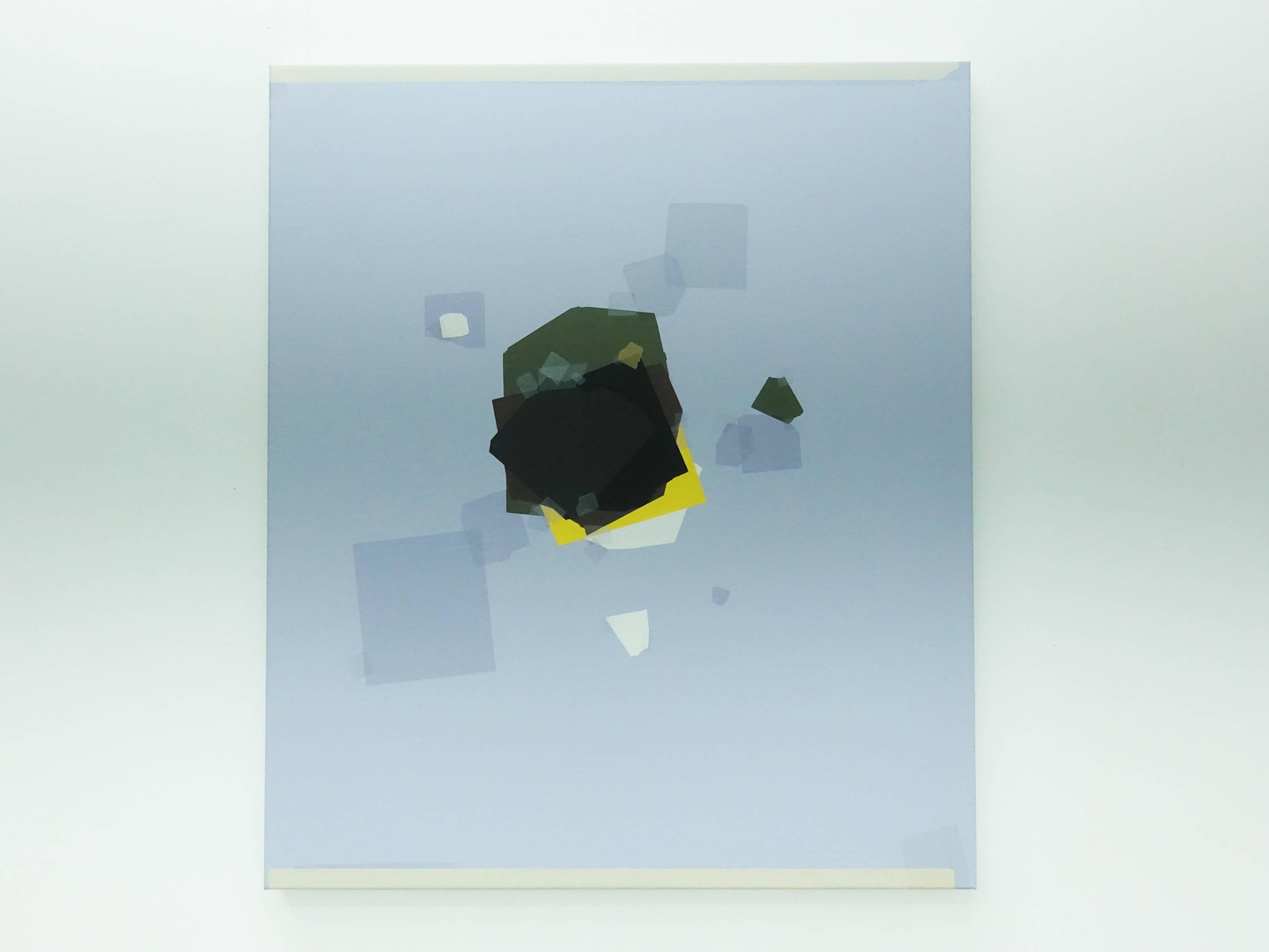 Kees Goudzwaard,《Weightless失重》,Oil on canvas,70 x 60 cm,2019。
