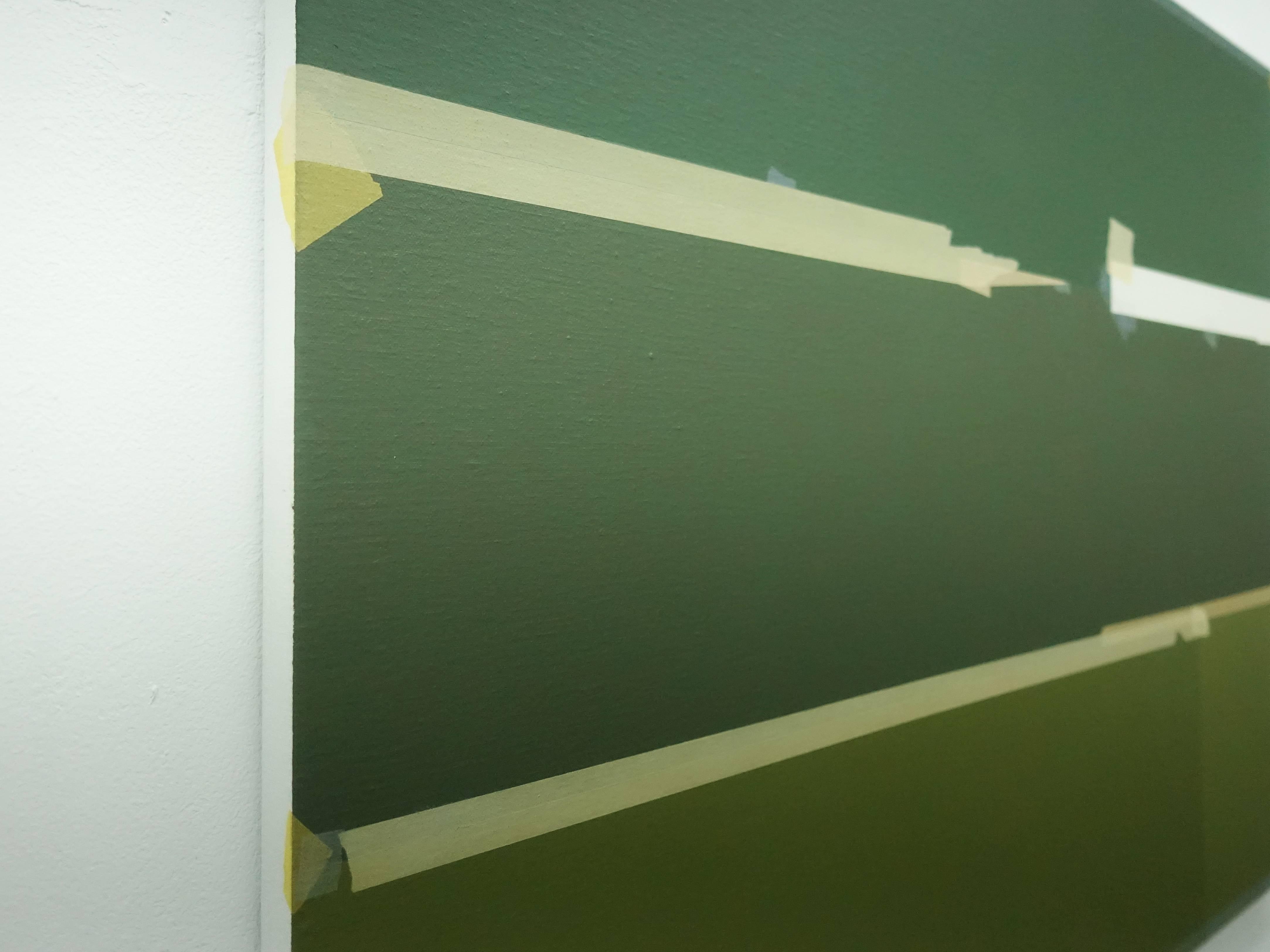 Kees Goudzwaard,《Field原》,Oil on canvas,70 x 90 cm,2019。
