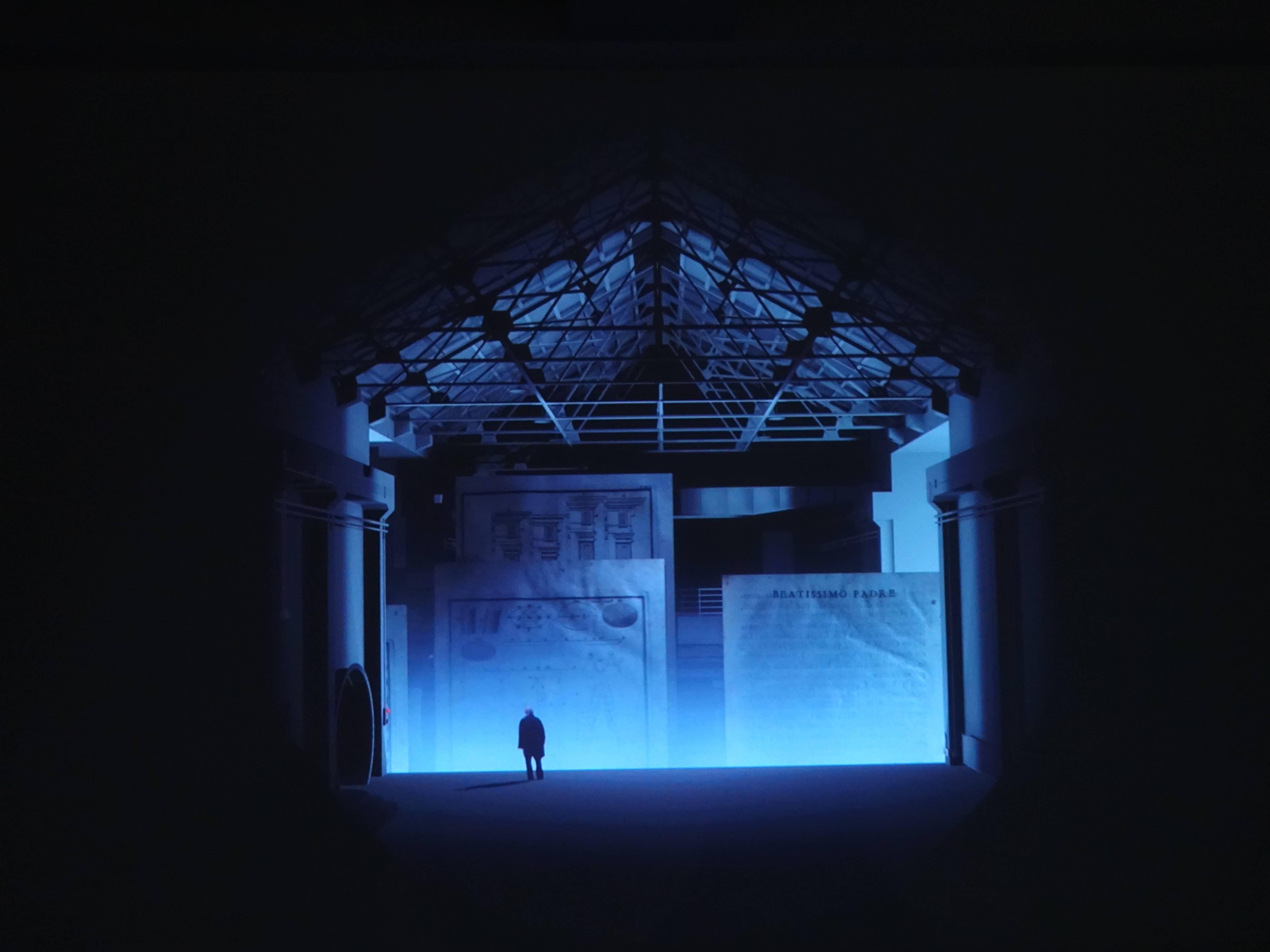 Florian Claar,《森林傳奇》,12'33,HD video單頻錄像,2018。